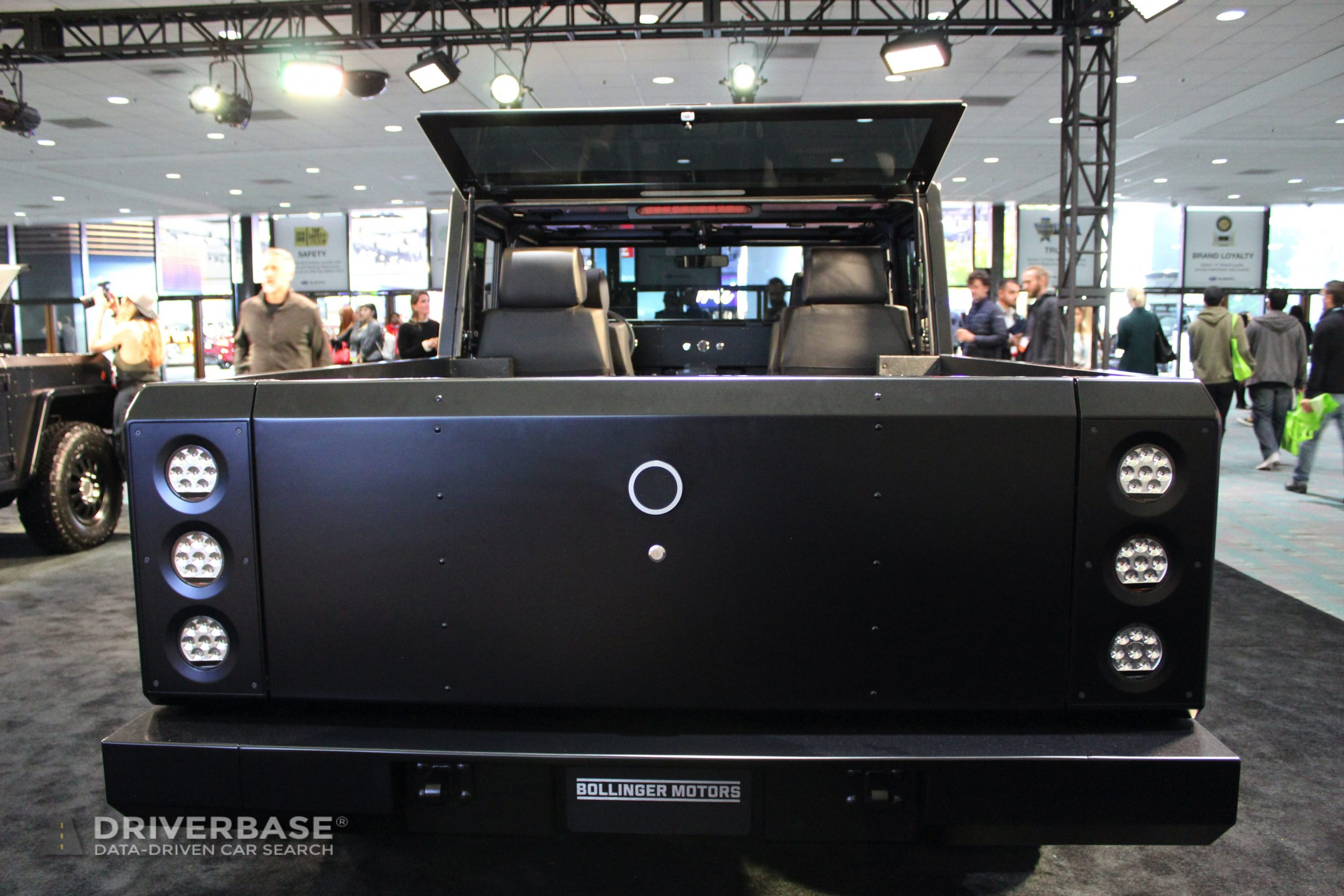 2021 Bollinger B1 Electric Truck at the Los Angeles Auto Show
