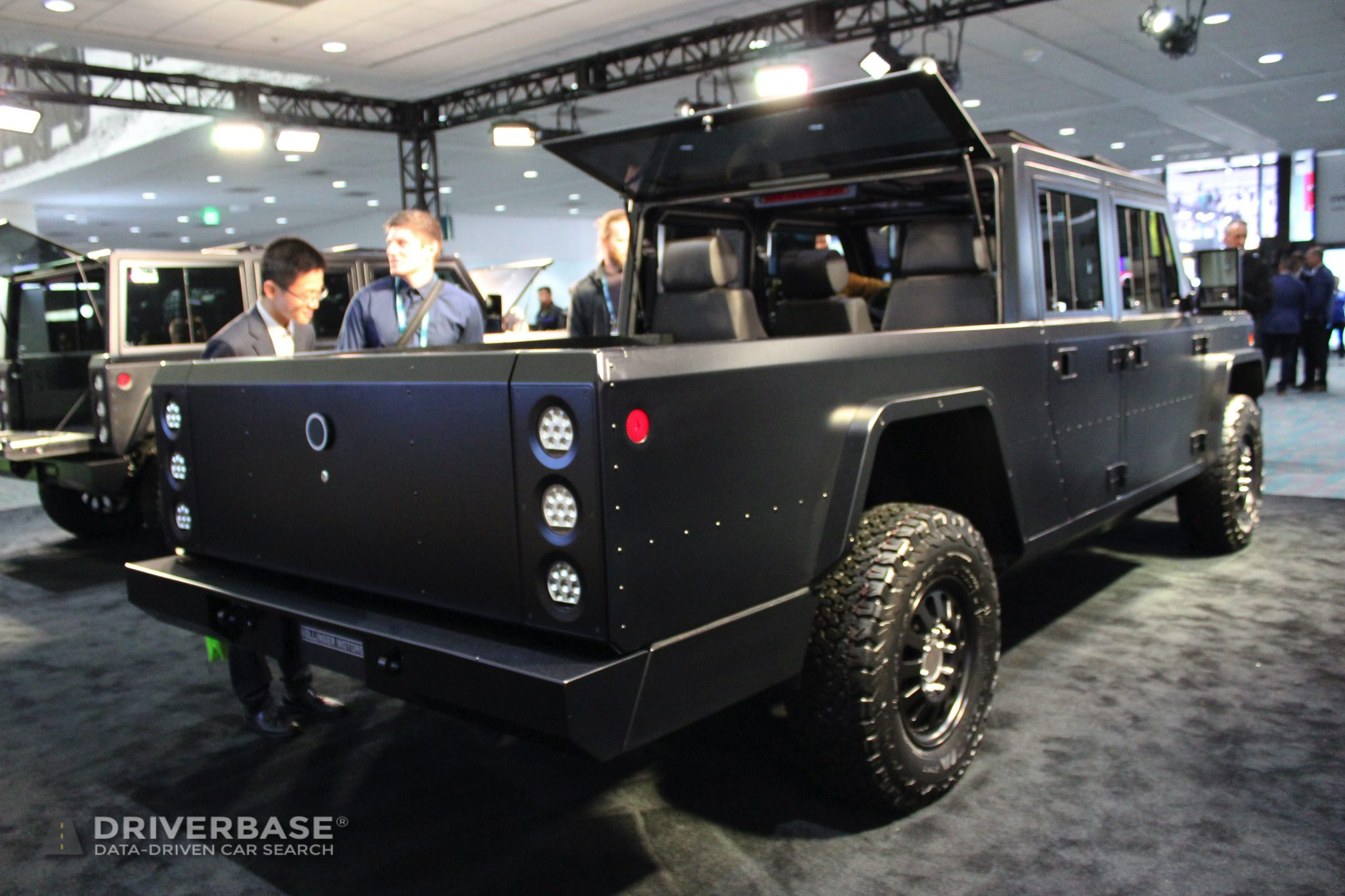 2021 Bollinger B2 Electric Truck at the Los Angeles Auto Show