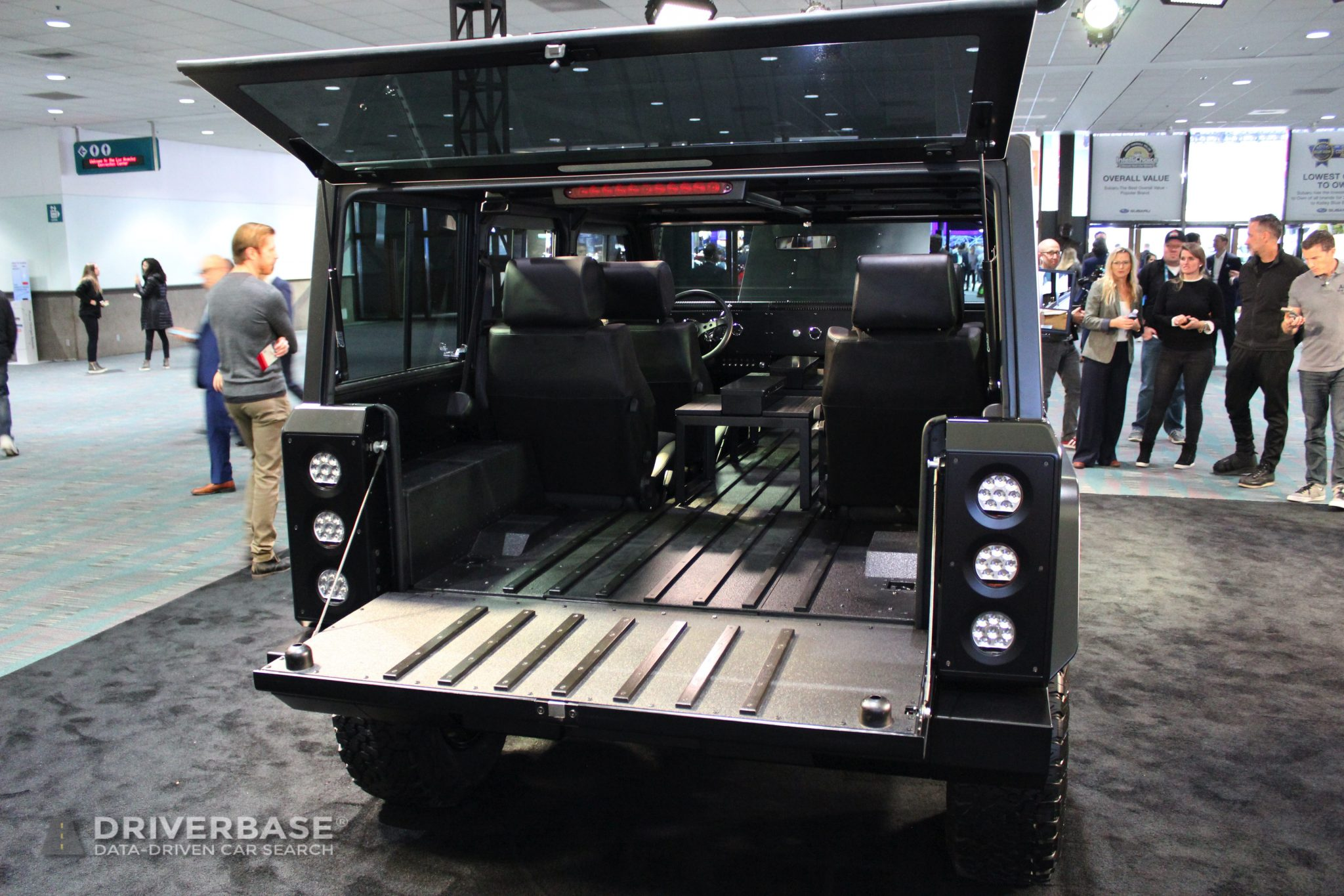 2021 Bollinger B1 Electric SUV at the 2019 Los Angeles Auto Show