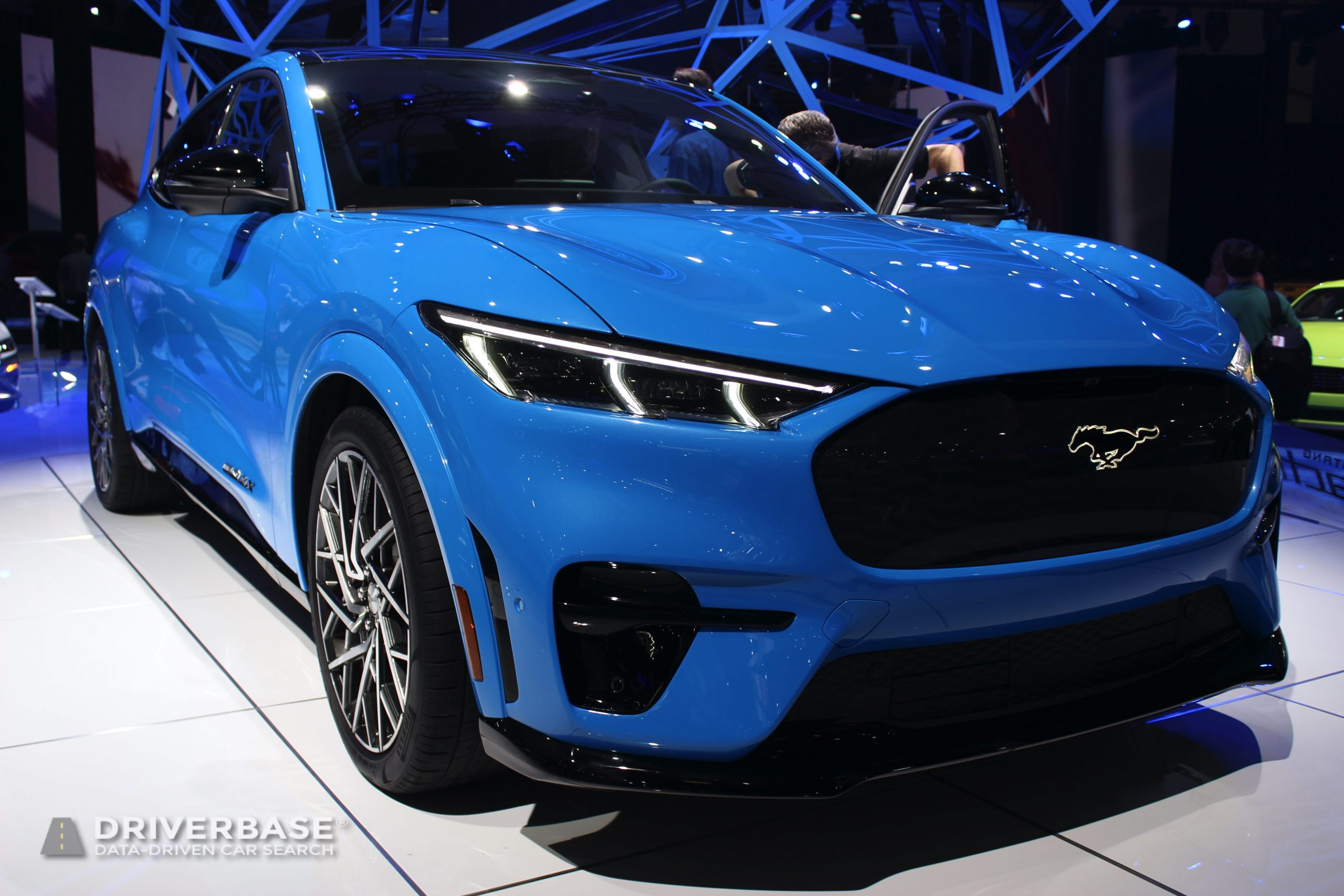 2021 Ford Mustang Mach-E GT Electric SUV at the Los Angeles Auto Show