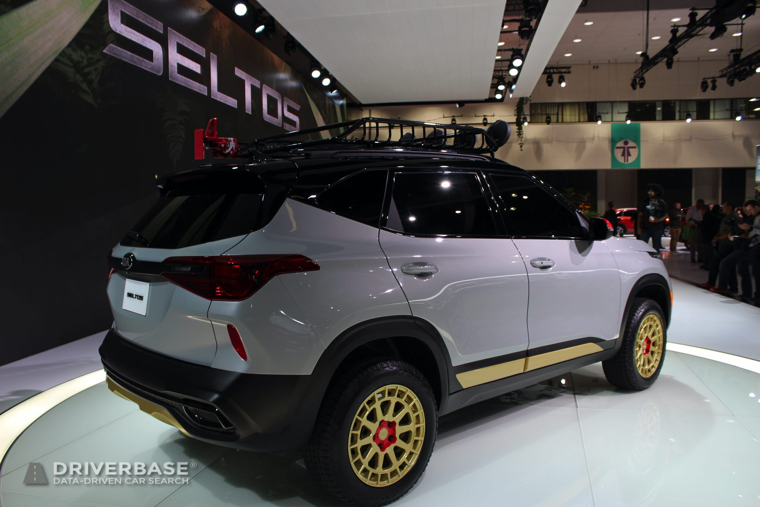 2021 Kia Seltos All Wheel Drive at the 2019 Los Angeles Auto Show