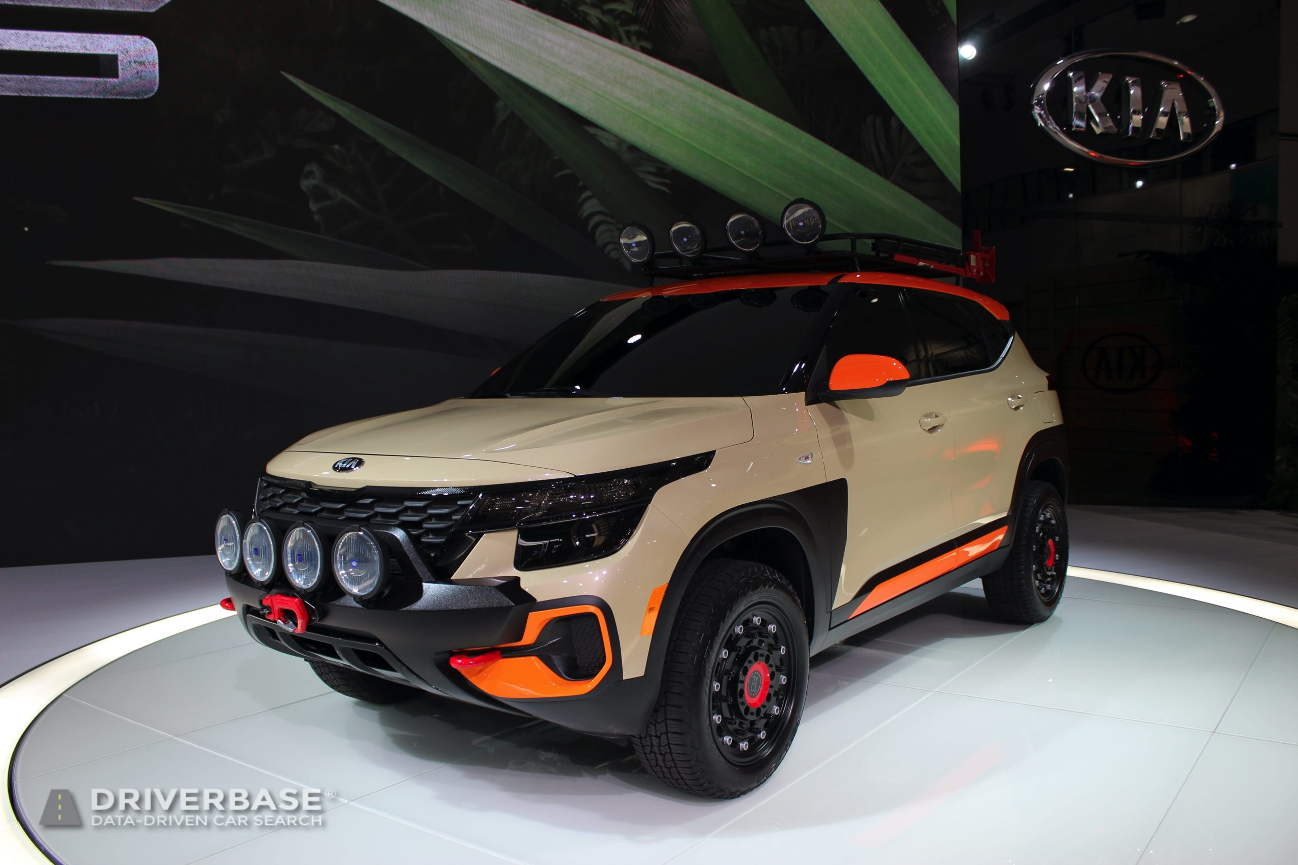 2021 Kia Seltos at the 2019 Los Angeles Auto Show
