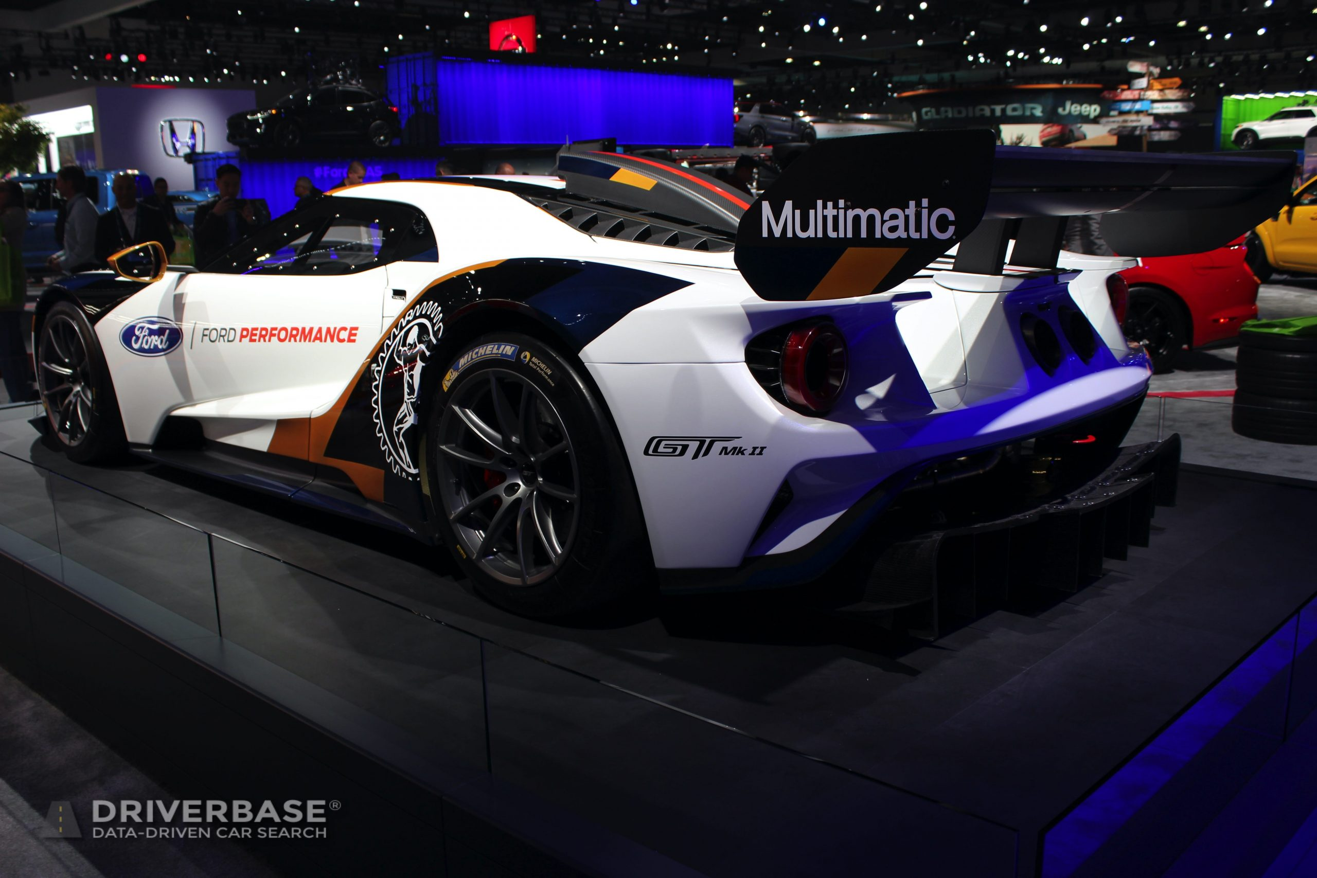 Ford GT MKII at the 2019 Los Angeles Auto Show