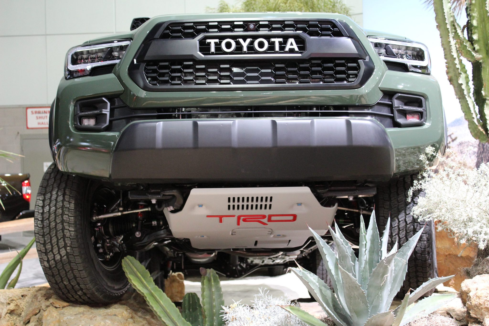 Toyota TRD Pro Tundra, Tacoma, and 4runner