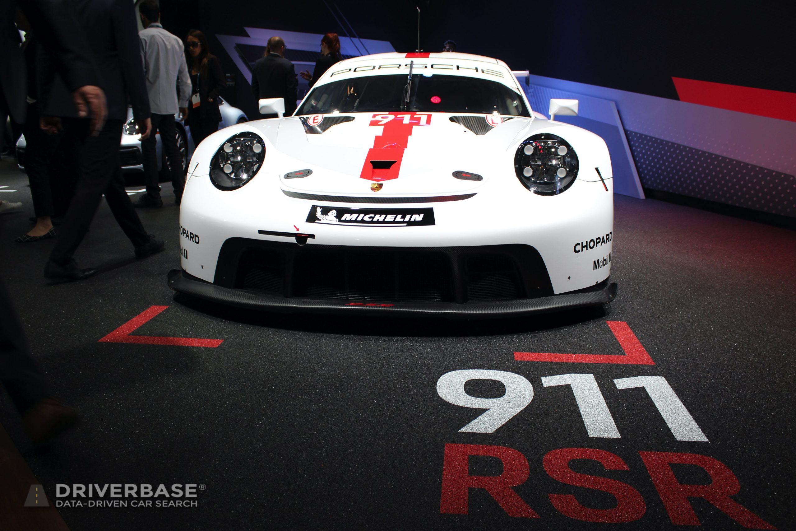 Porsche 911 RSR at the 2019 Los Angeles Auto Show