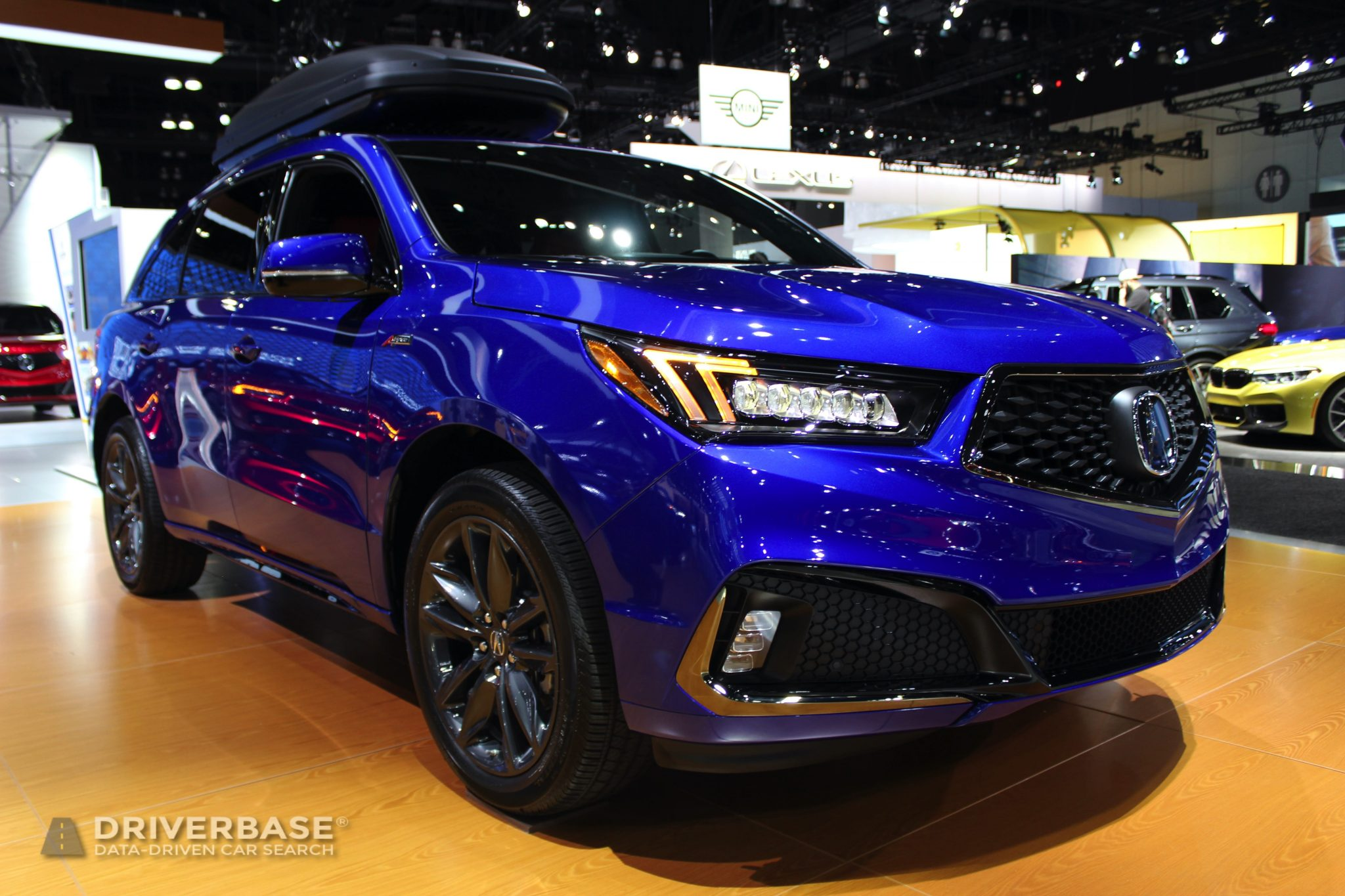 2020 Acura MDX SH AWD at the 2019 Los Angeles Auto Show