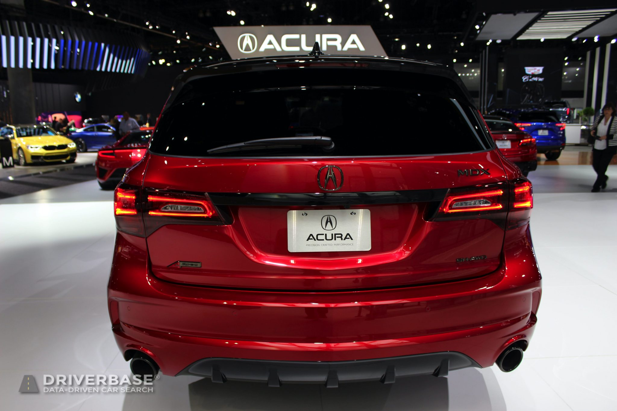 2020 Acura MDX at the 2019 Los Angeles Auto Show