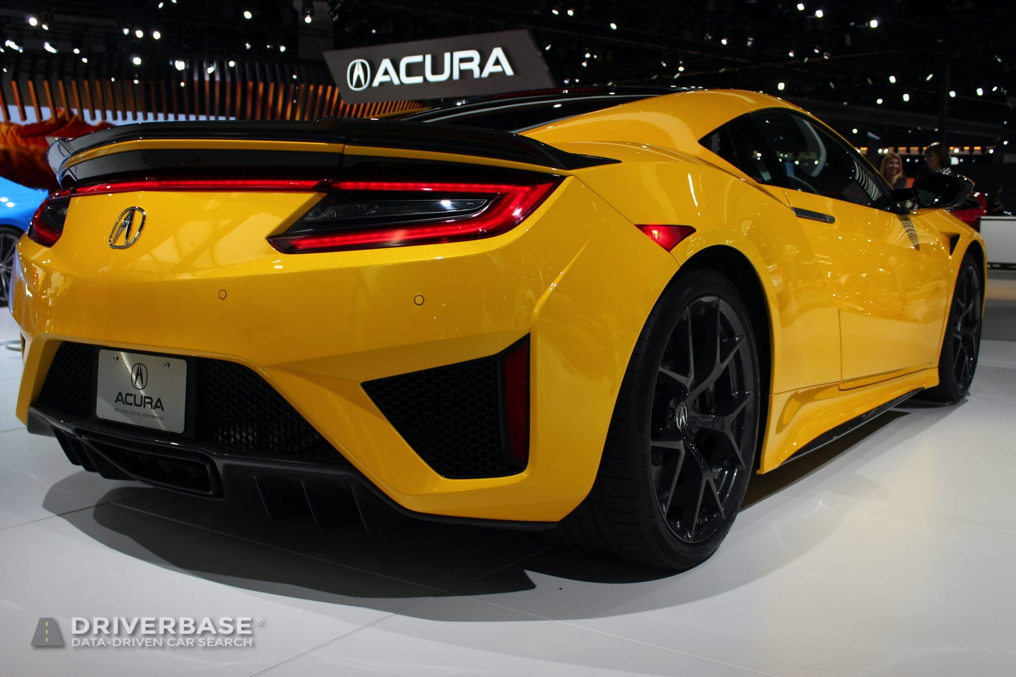 2020 Acura NSX at the 2019 Los Angeles Auto Show