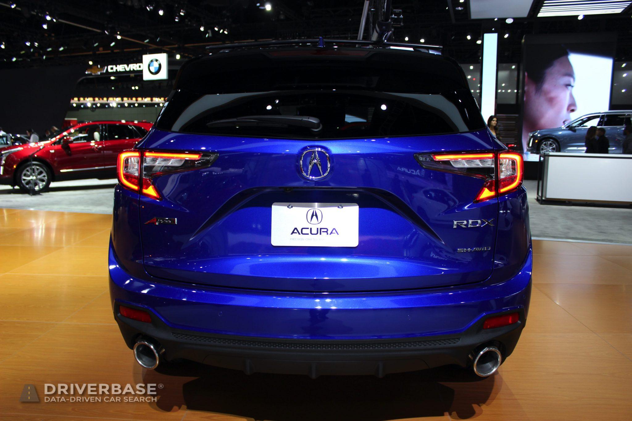 2020 Acura RDX SH AWD at the 2019 Los Angeles Auto Show