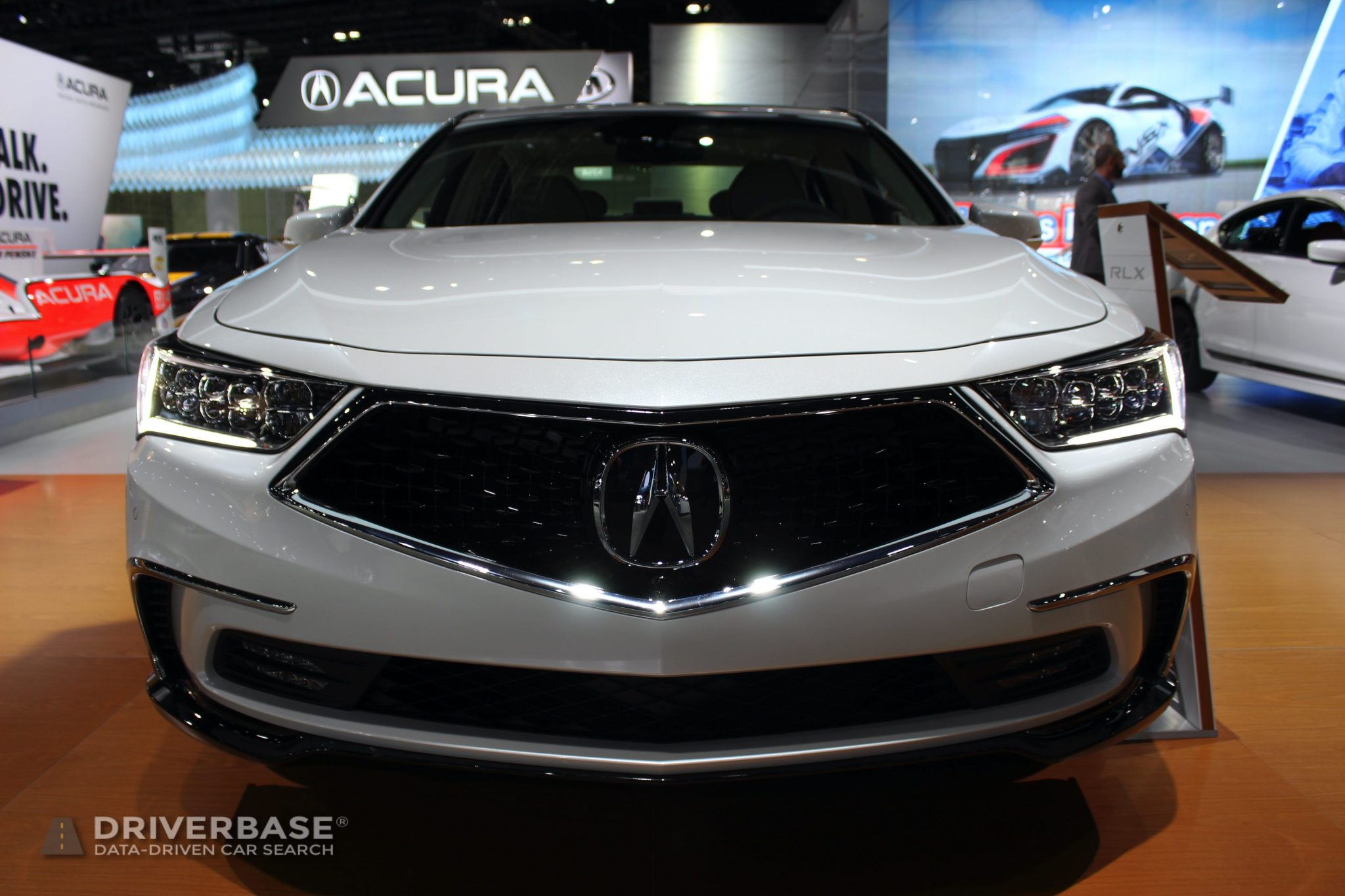 2020 Acura RLX SH AWD at the 2019 Los Angeles Auto Show