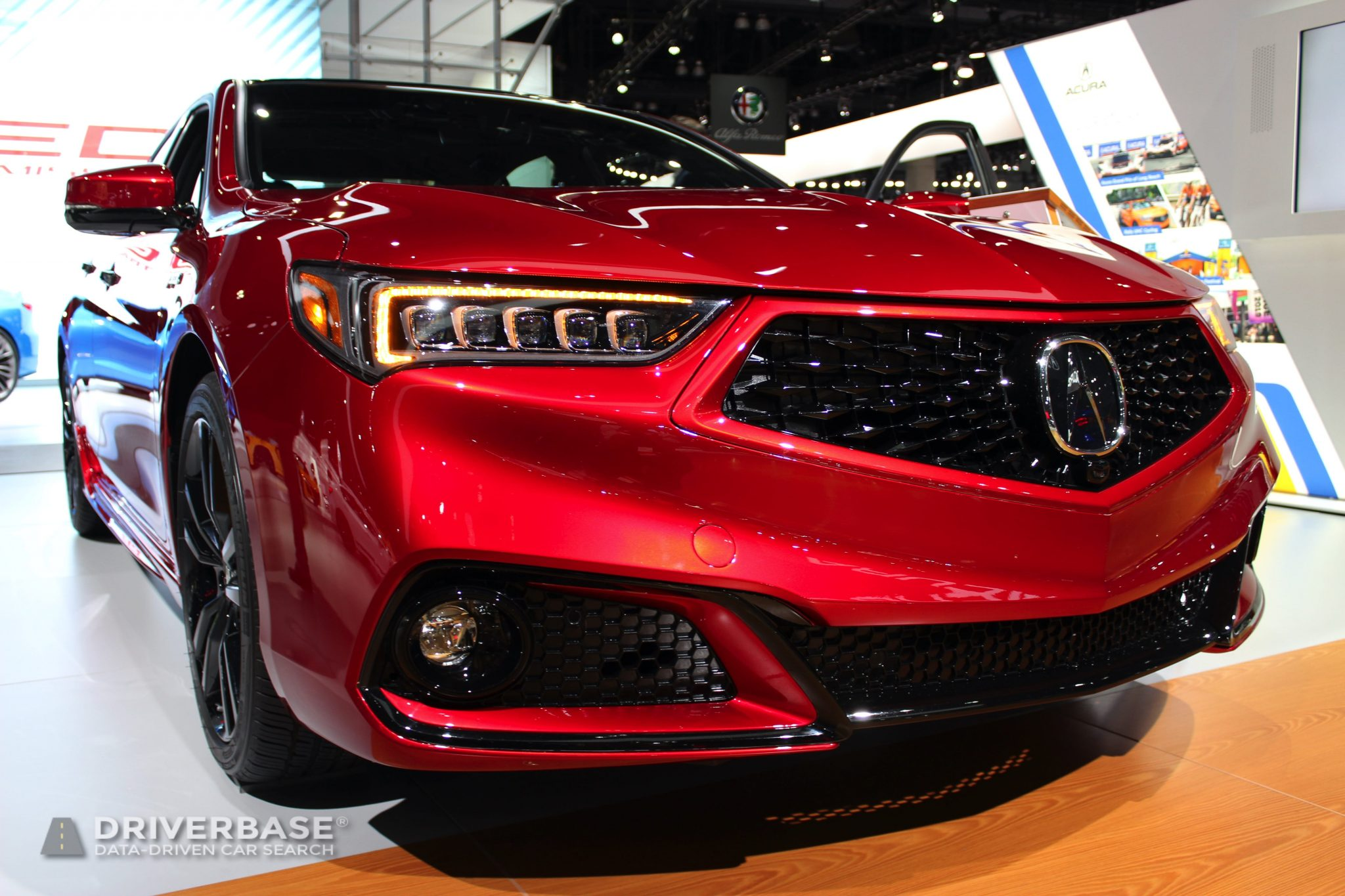 2020 Acura TLX at the 2019 Los Angeles Auto Show