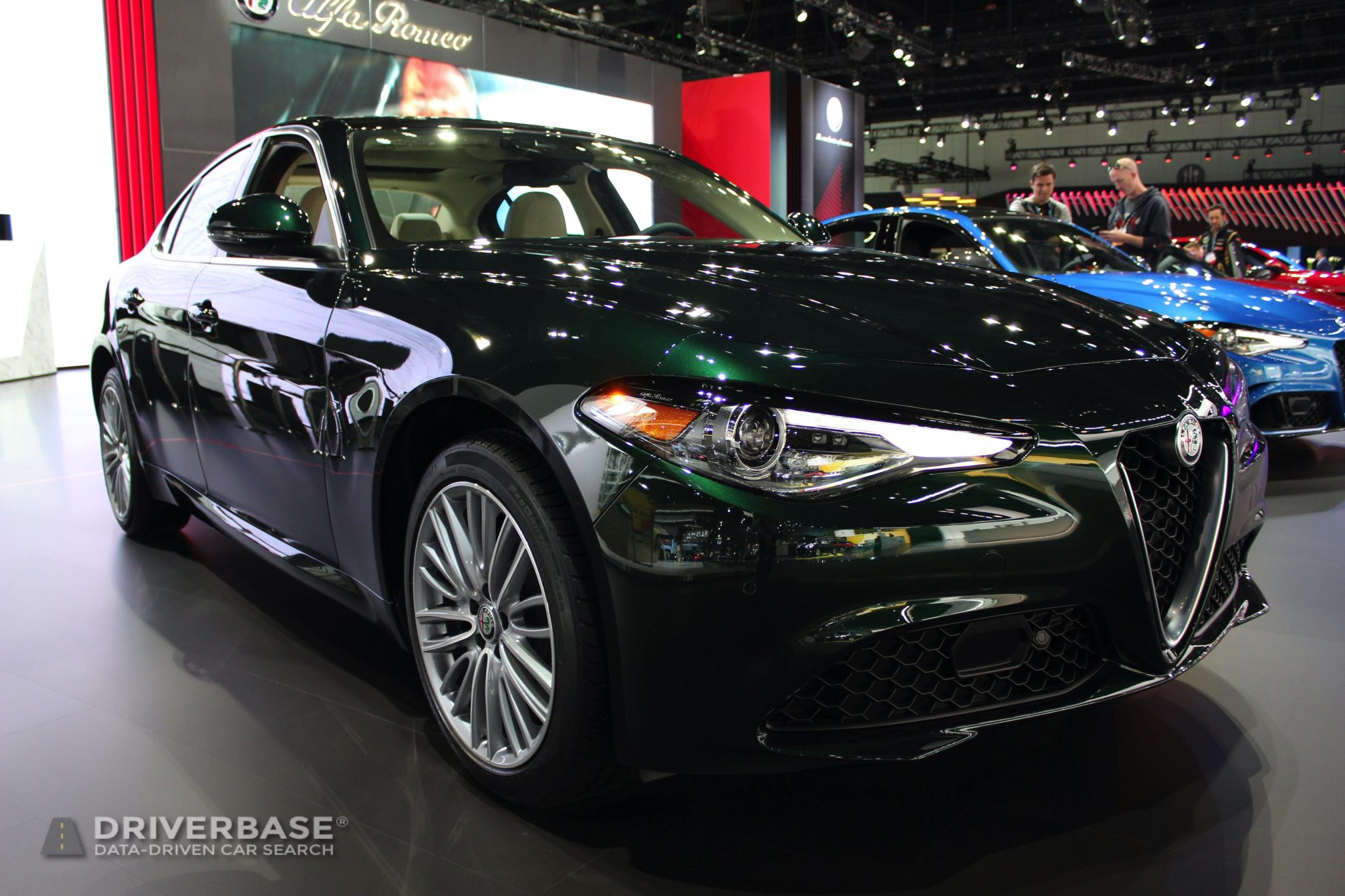 2020 Alfa Romeo Giulia at the 2019 Los Angeles Auto Show