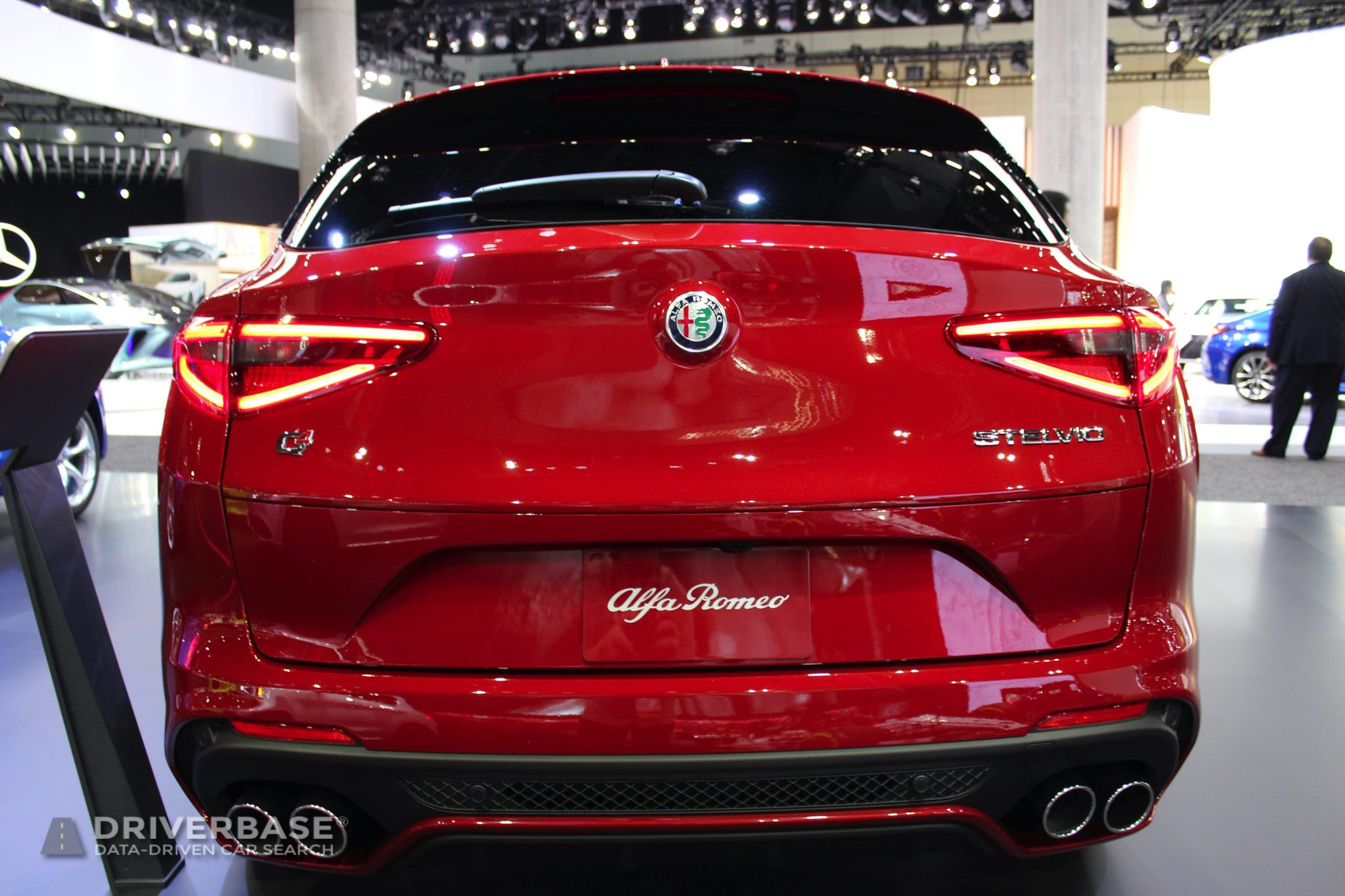 2020 Alfa Romeo Stelvio at the 2019 Los Angeles Auto Show
