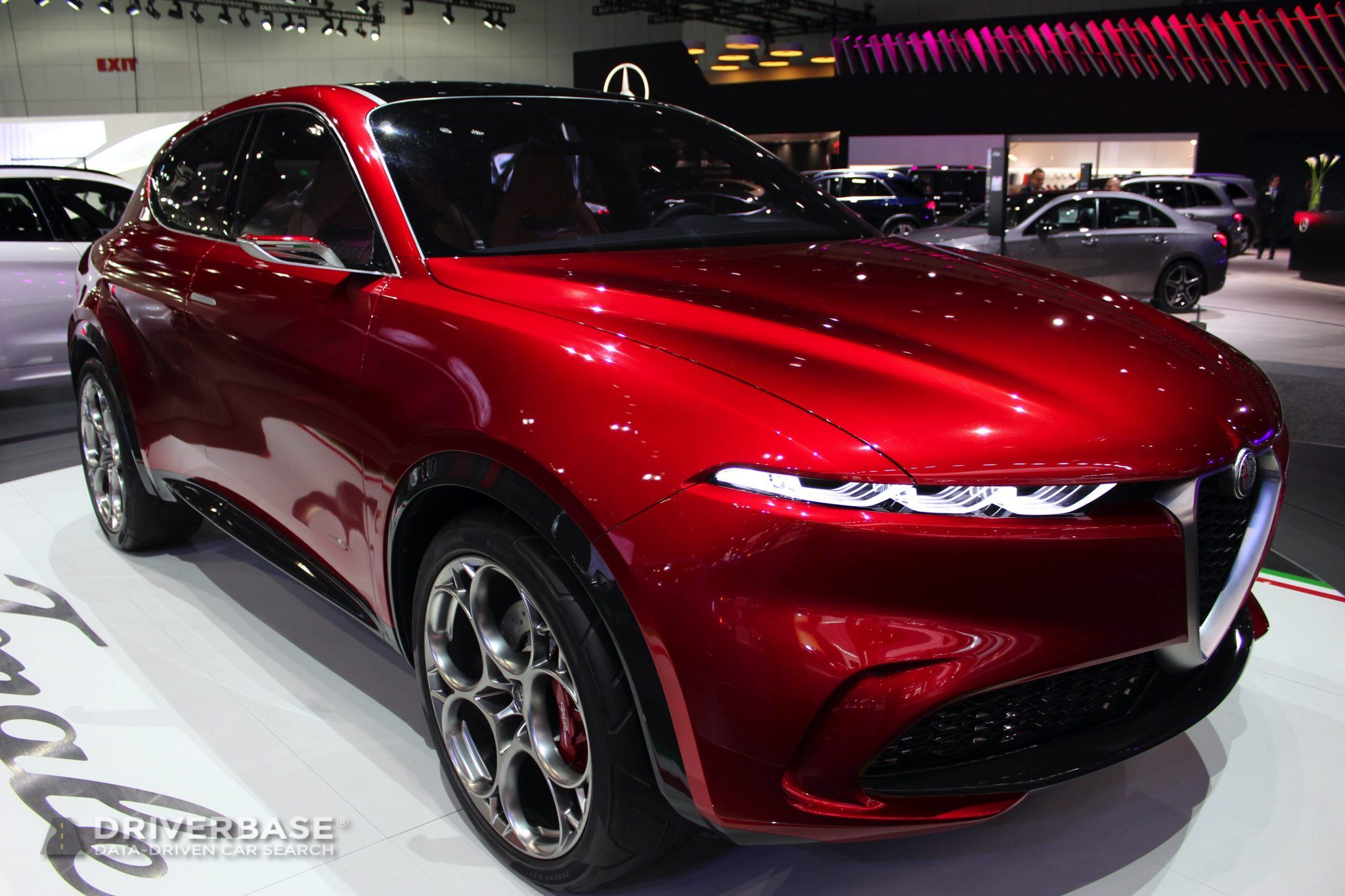 Alfa Romeo Tonale Concept at the 2019 Los Angeles Auto Show