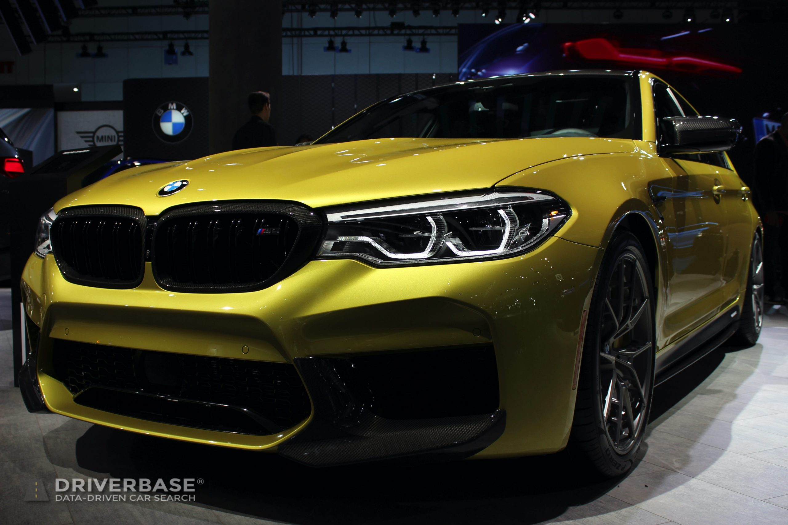 2020 BMW M5 at the 2019 Los Angeles Auto Show