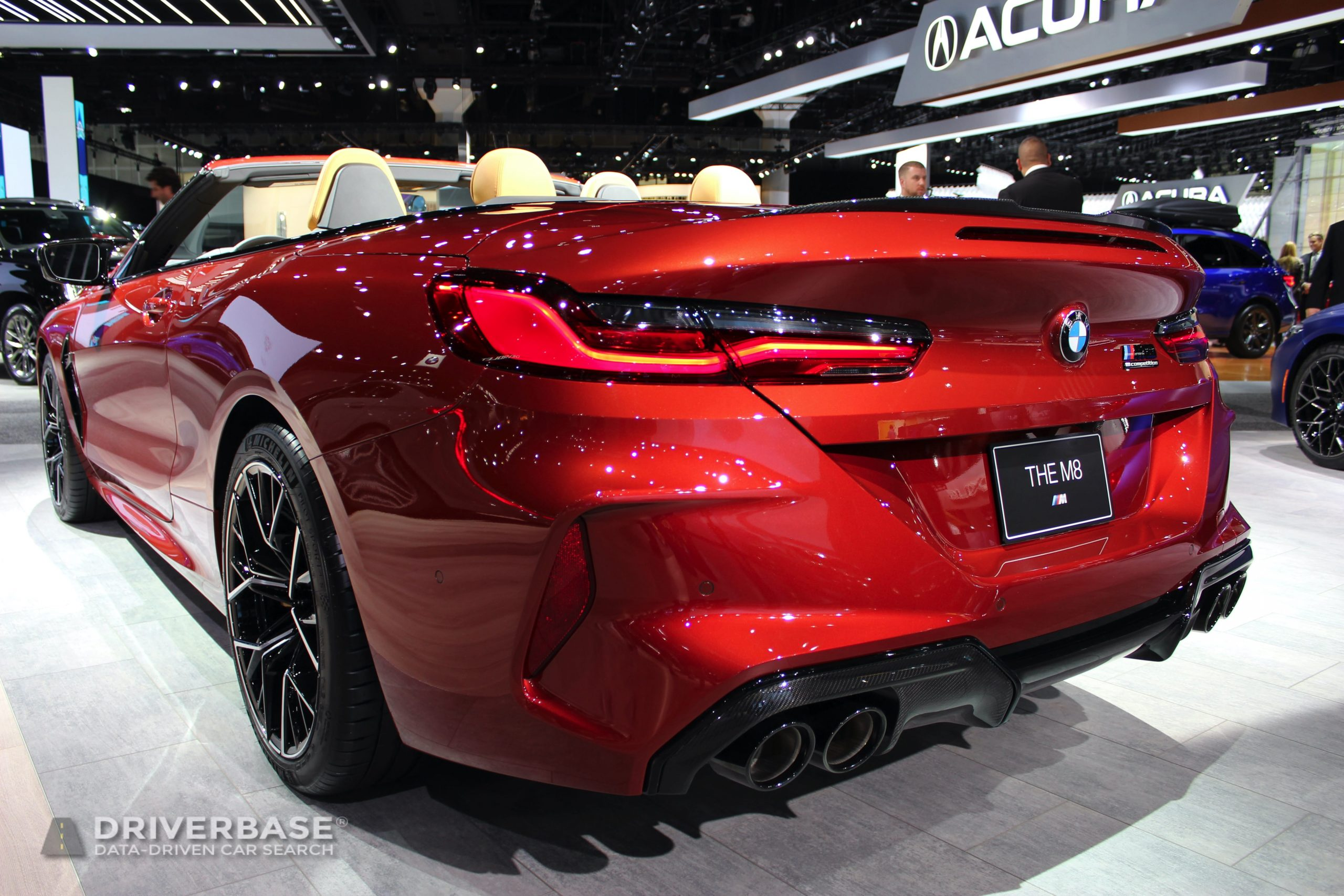 2020 BMW M8 Competition Convertible at the 2019 Los Angeles Auto Show