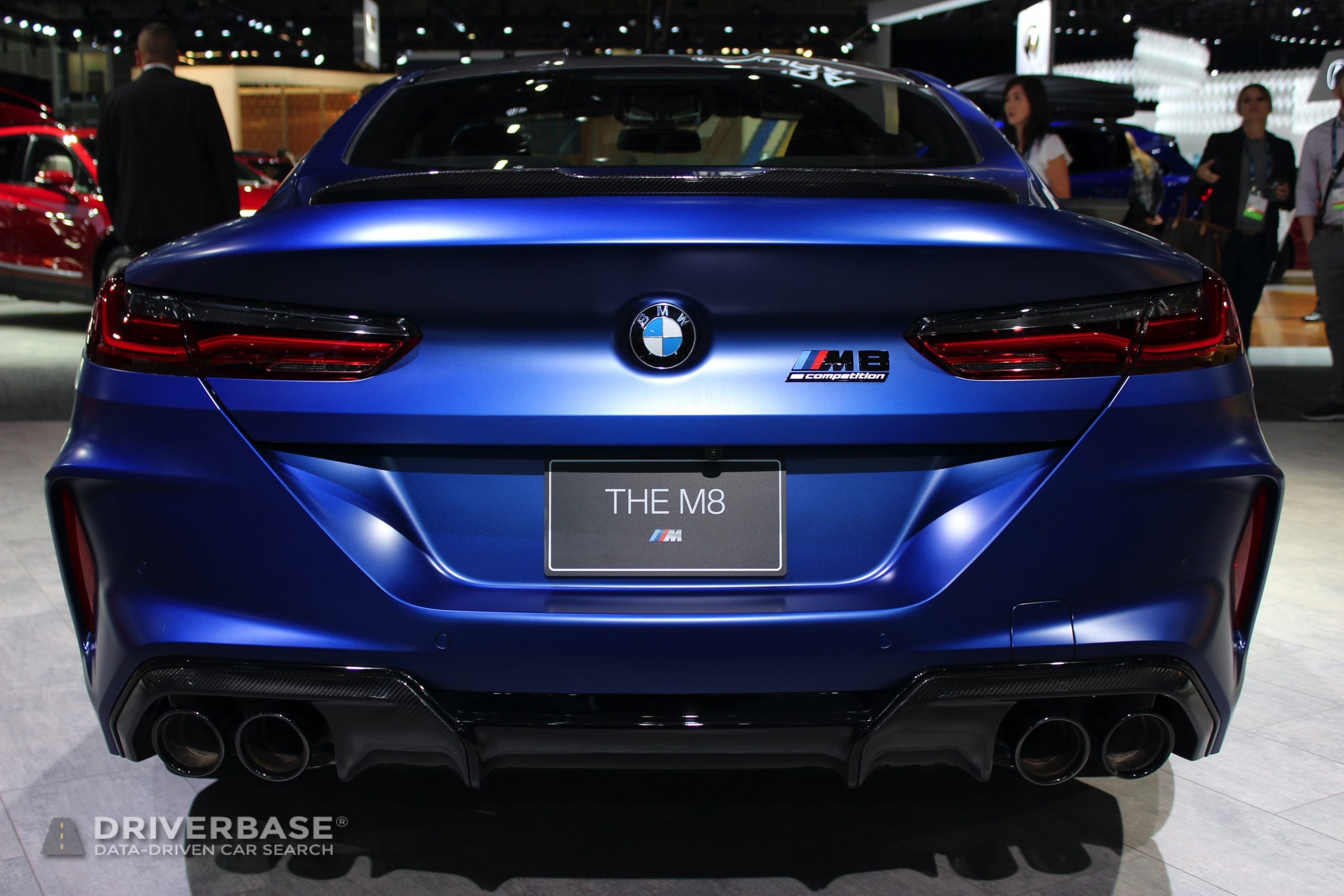 2020 BMW M8 Competition Coupe at the 2019 Los Angeles Auto Show