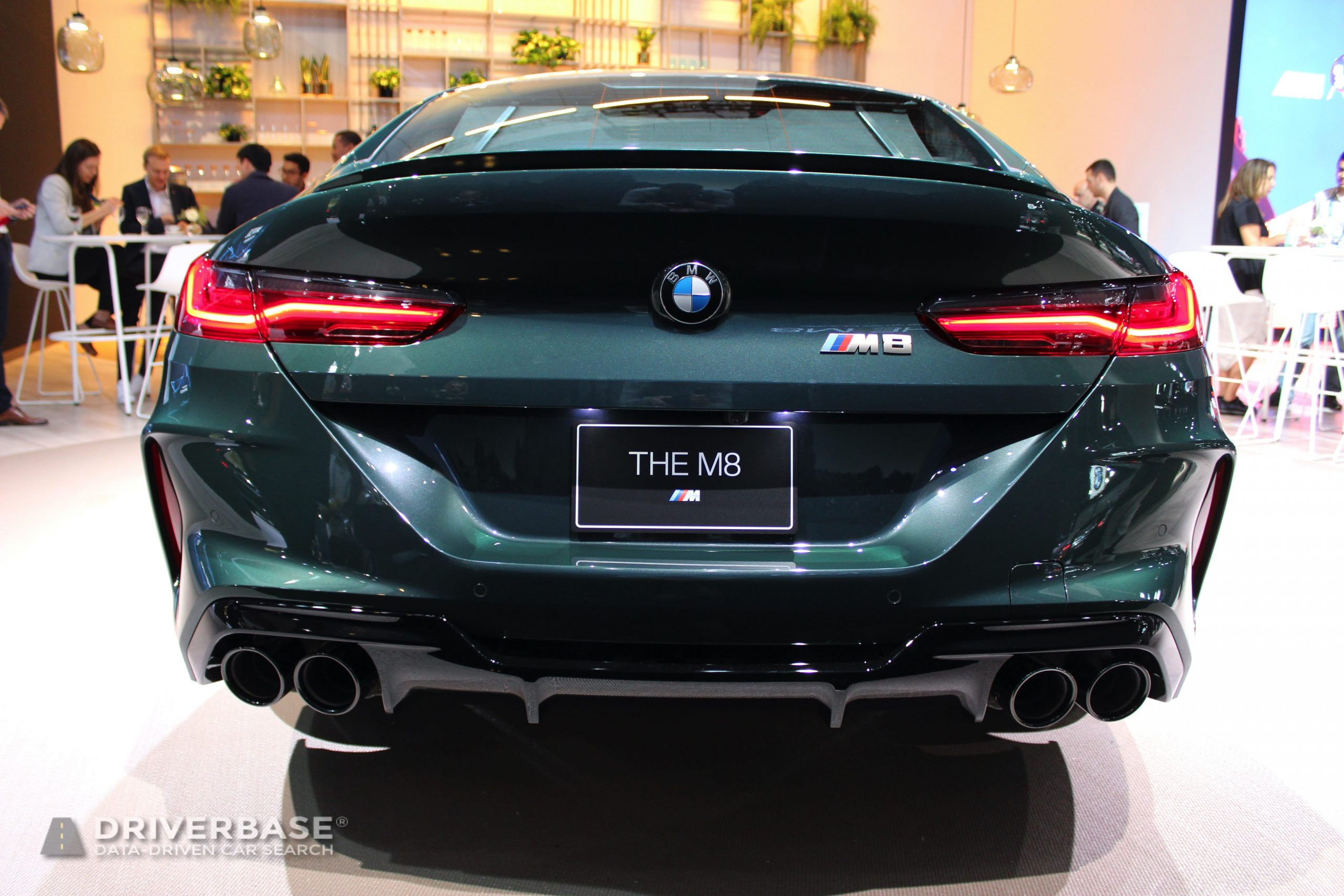 2020 BMW M8 at the 2019 Los Angeles Auto Show