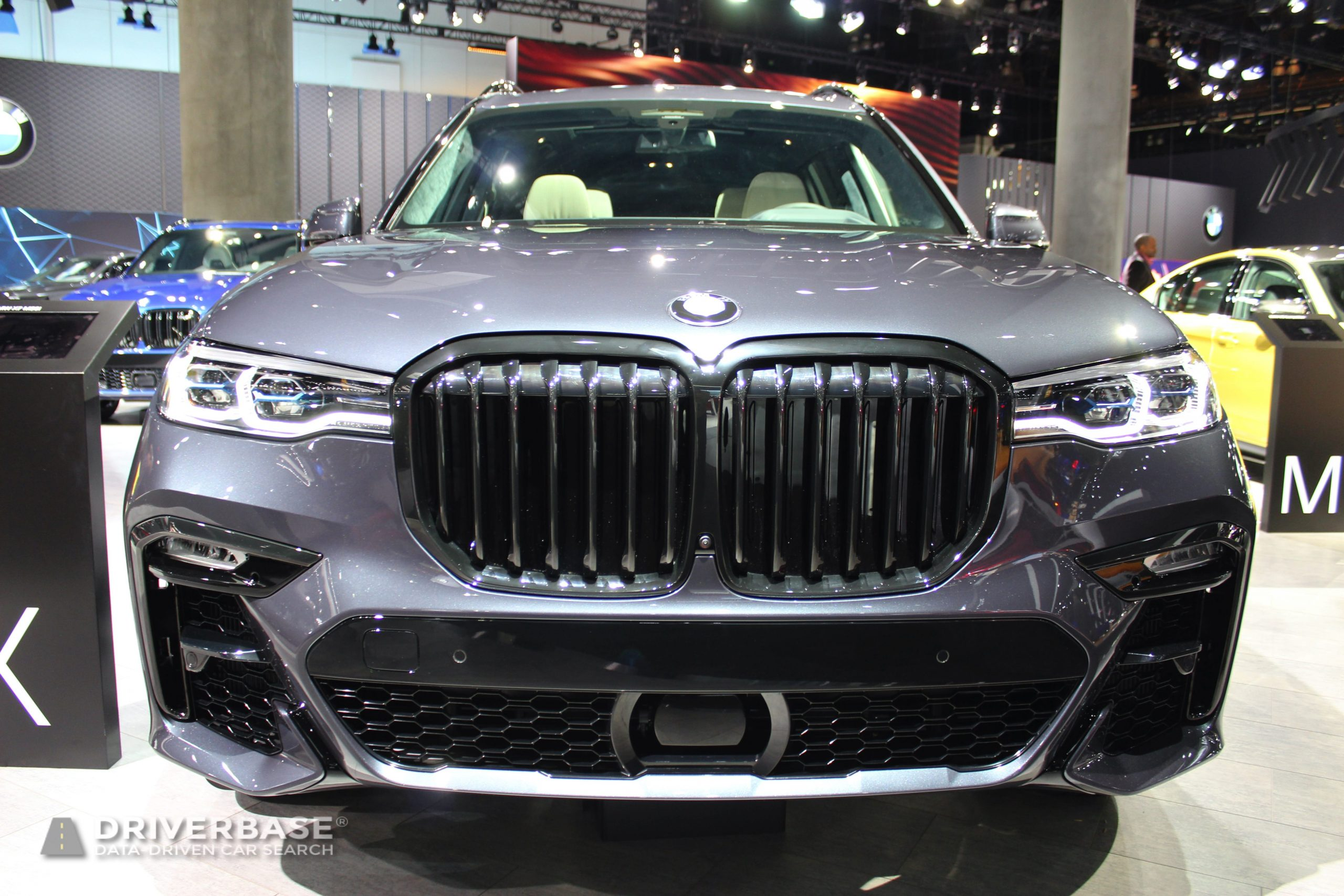 2020 BMW X7 M50i at the 2019 Los Angeles Auto Show