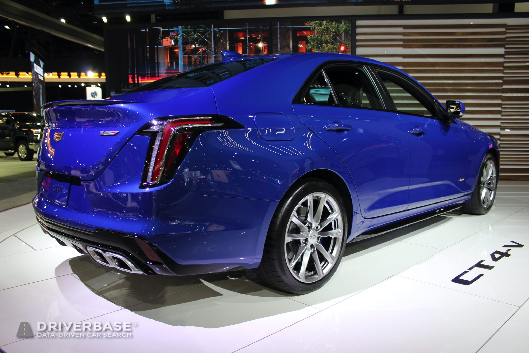 2020 Cadillac CT4 V at the 2019 Los Angeles Auto Show