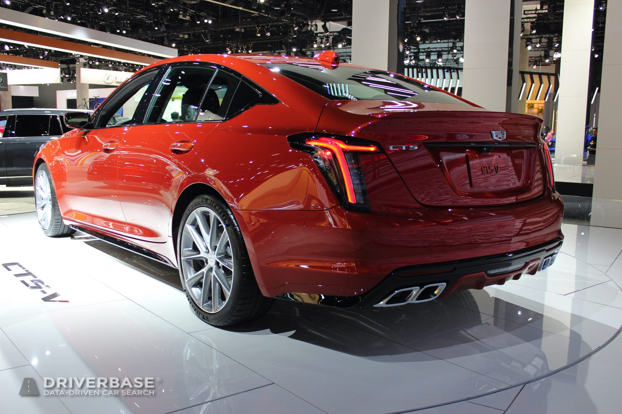 2020 Cadillac CT5 V at the 2019 Los Angeles Auto Show