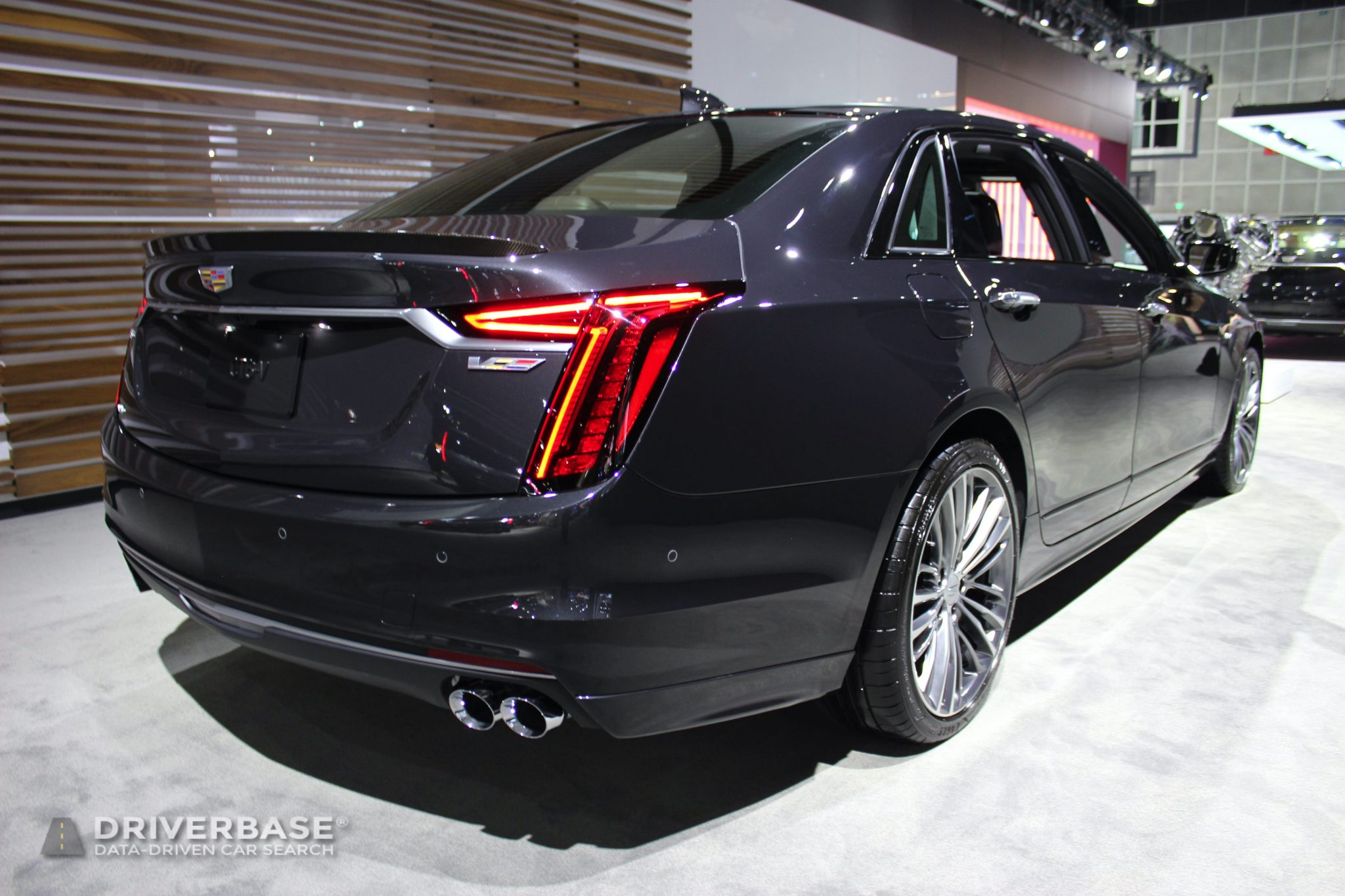 2020 Cadillac CT6 V at the 2019 Los Angeles Auto Show
