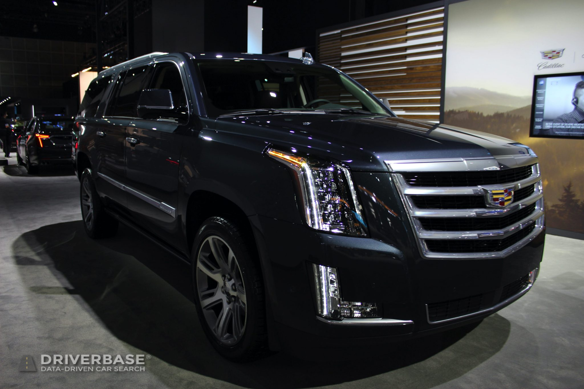 2020 Cadillac Escalade Platinum at the 2019 Los Angeles Auto Show