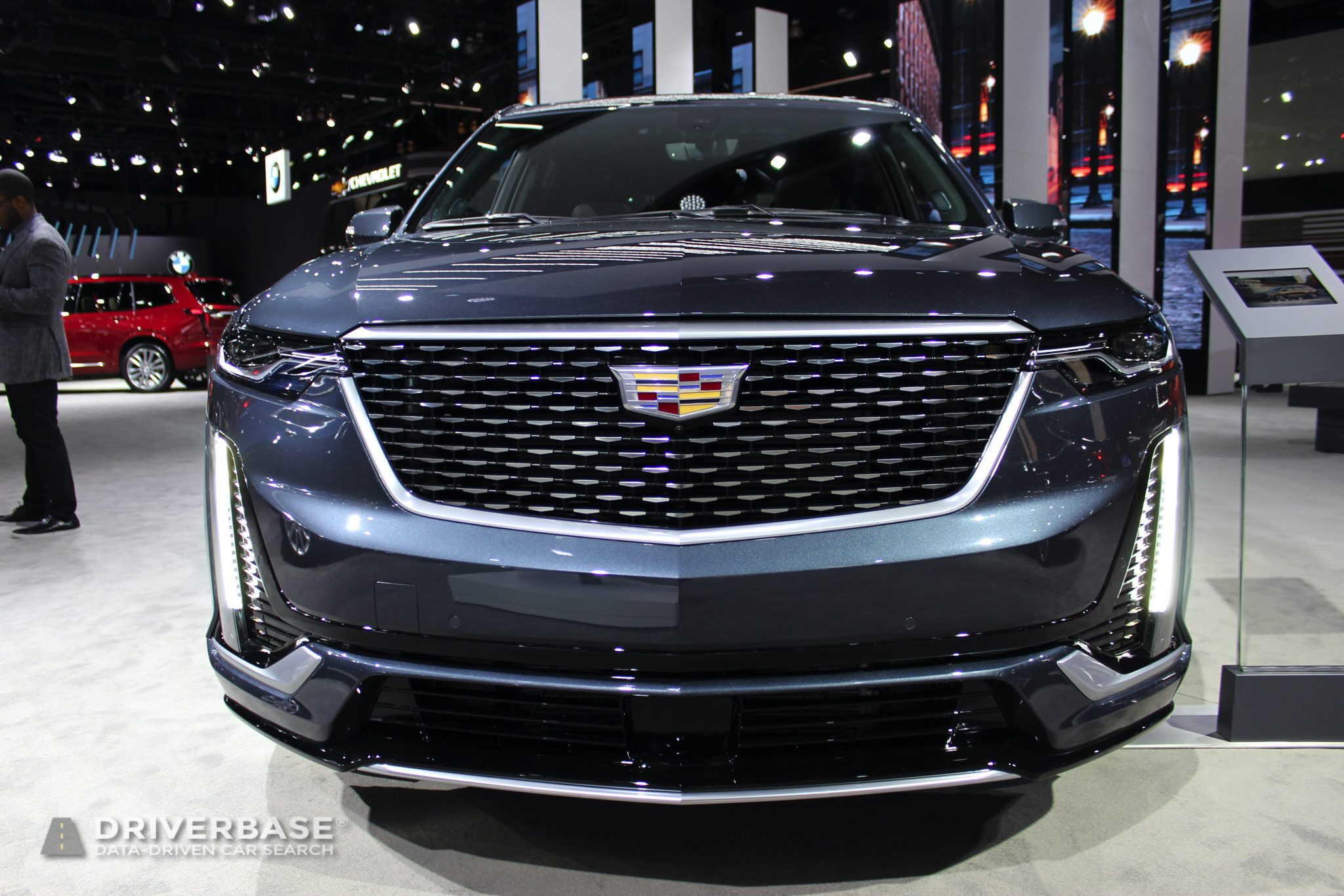 2020 Cadillac XT6 at the 2019 Los Angeles Auto Show