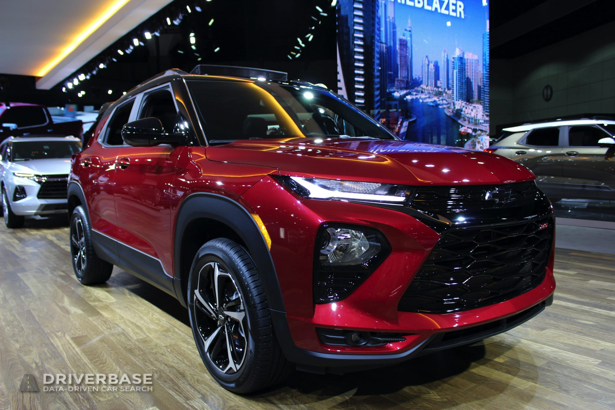 2020 Chevrolet Blazer RS at the 2019 Los Angeles Auto Show