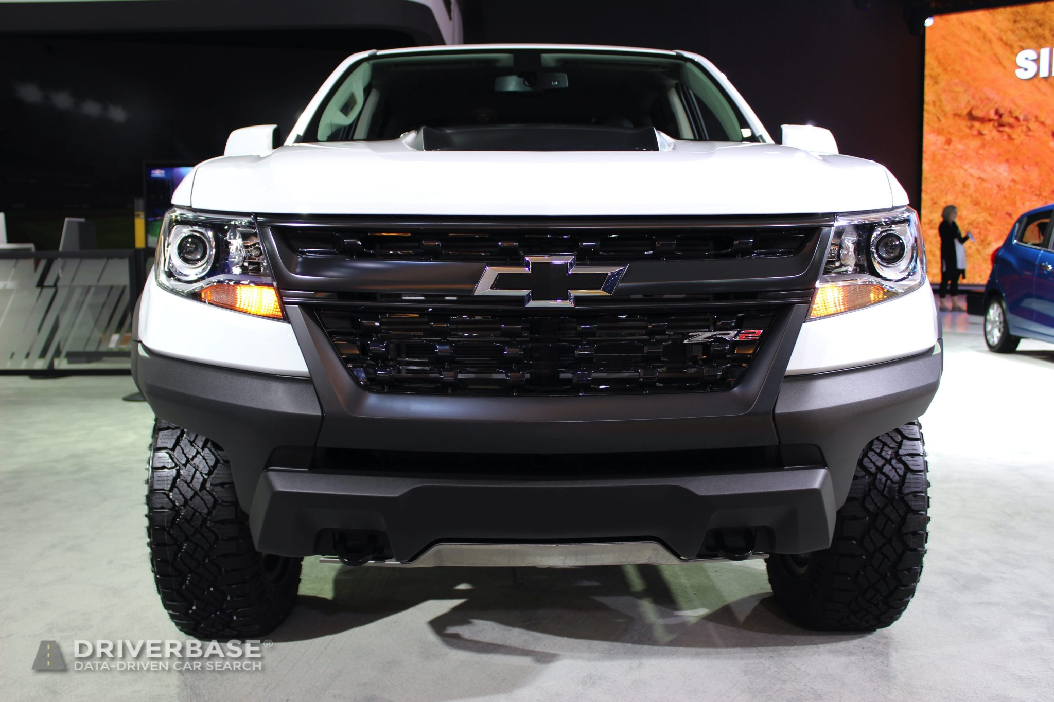 2020 Chevrolet Colorado ZR2 at the 2019 Los Angeles Auto Show