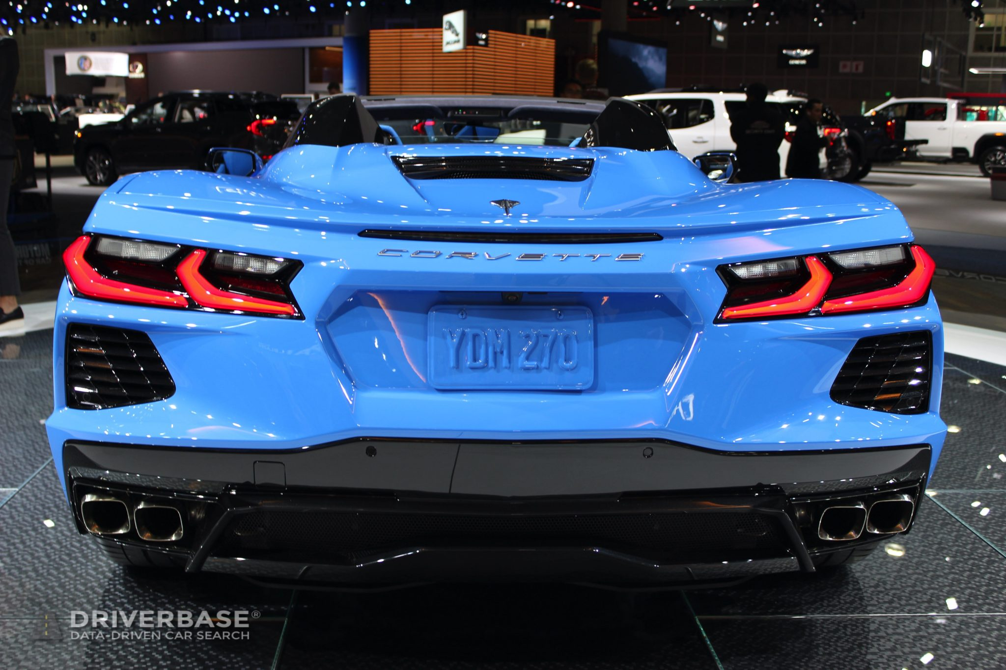 2020 Chevrolet Corvette Stingray Convertible at the 2019 Los Angeles Auto Show