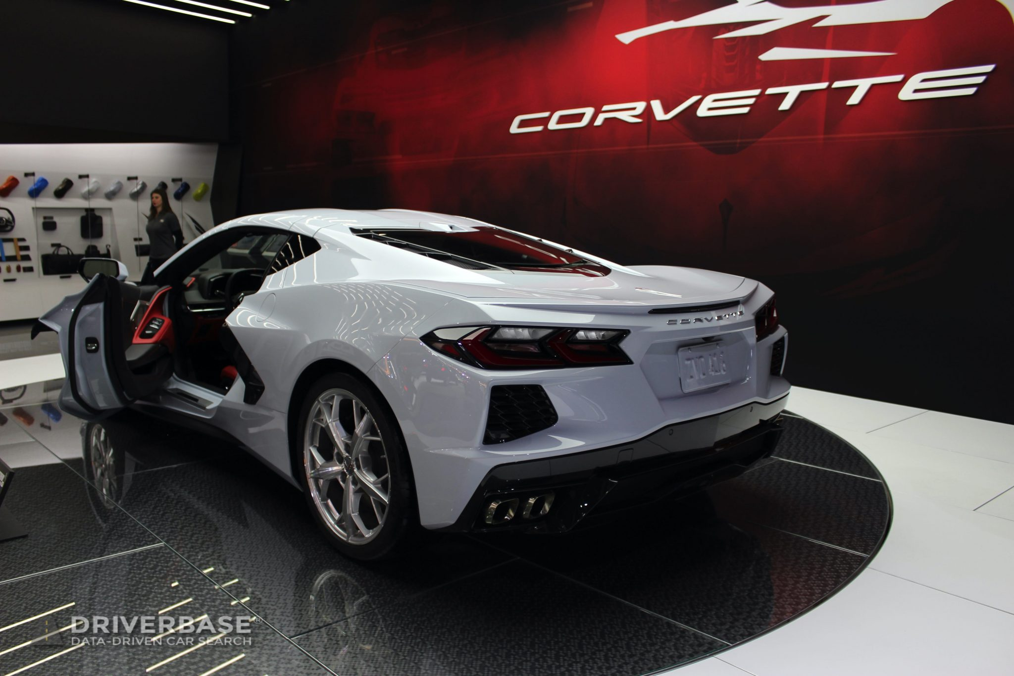 2020 Chevrolet Corvette Stingray at the 2019 Los Angeles Auto Show