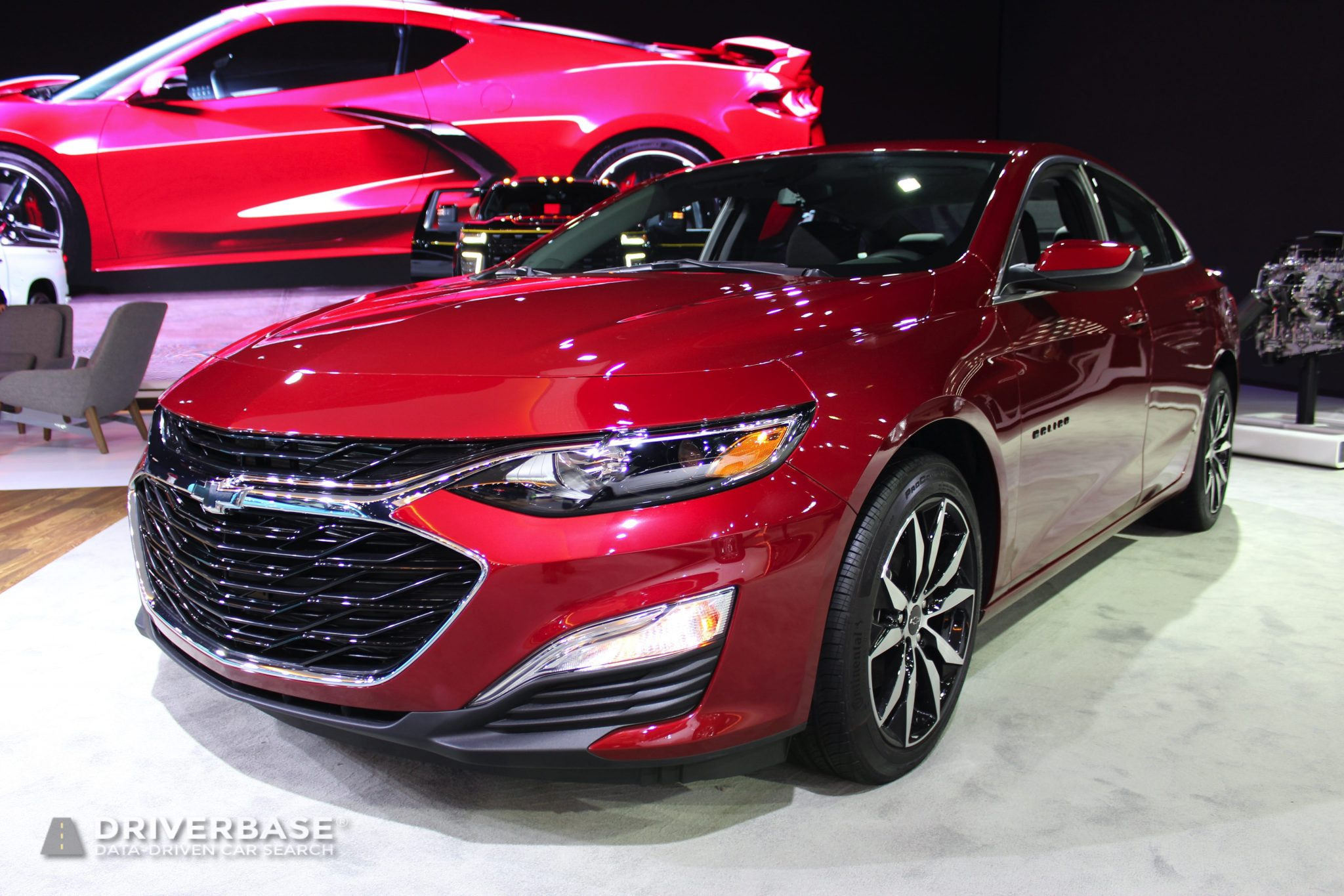 2020 Chevrolet Malibu RS at the 2019 Los Angeles Auto Show