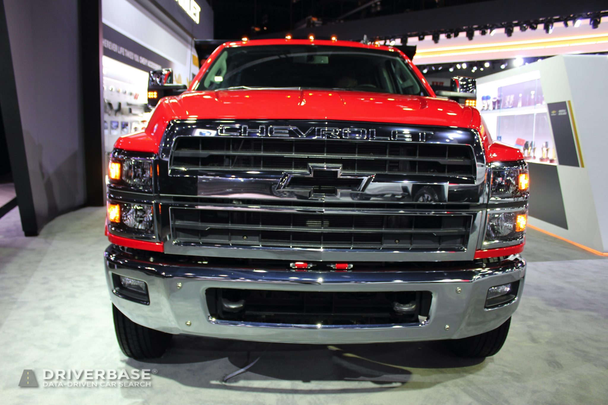 2020 Chevrolet Silverado 6500 HD at the 2019 Los Angeles Auto Show