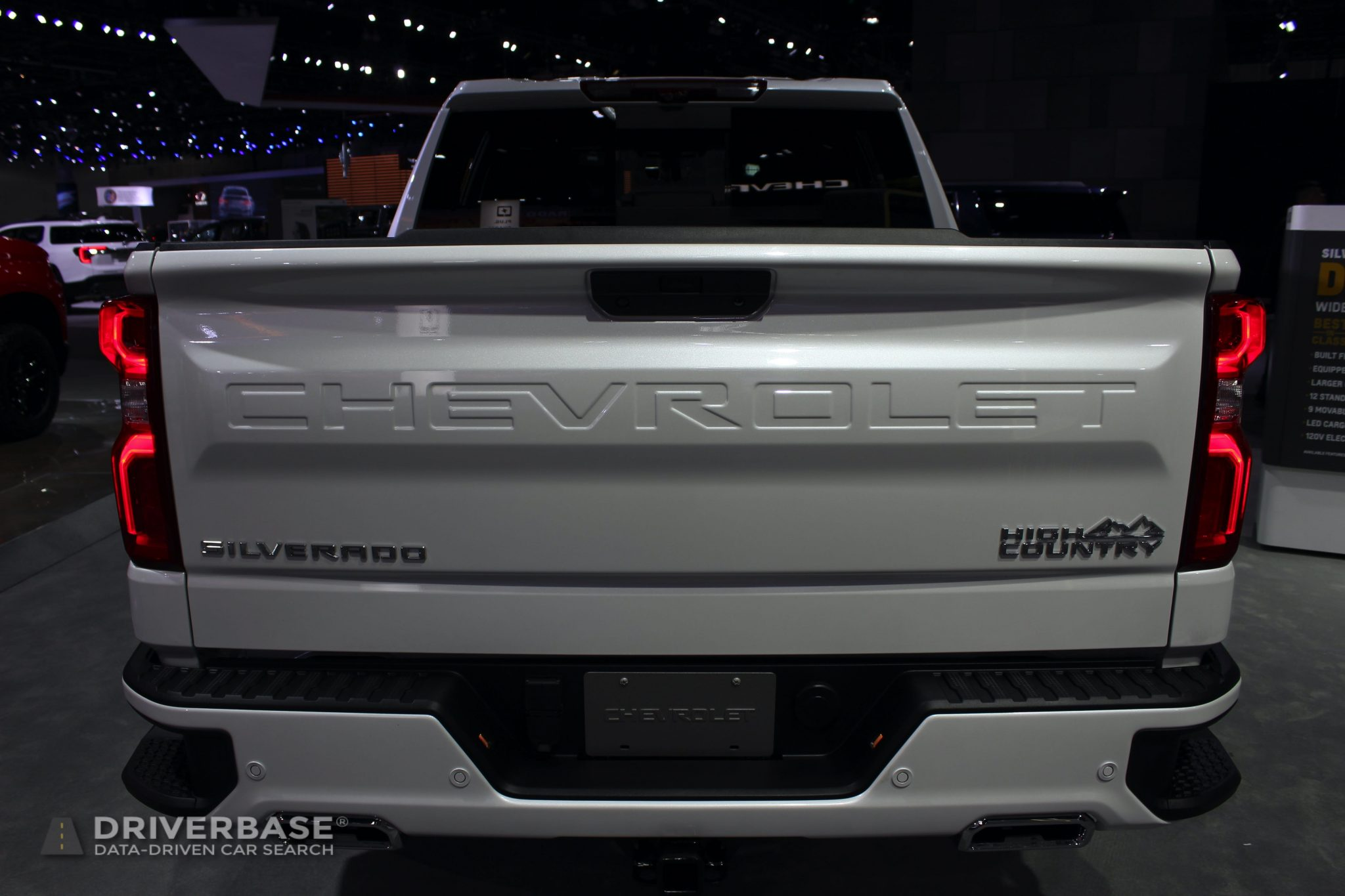 2020 Chevrolet Silverado High Country at the 2019 Los Angeles Auto Show