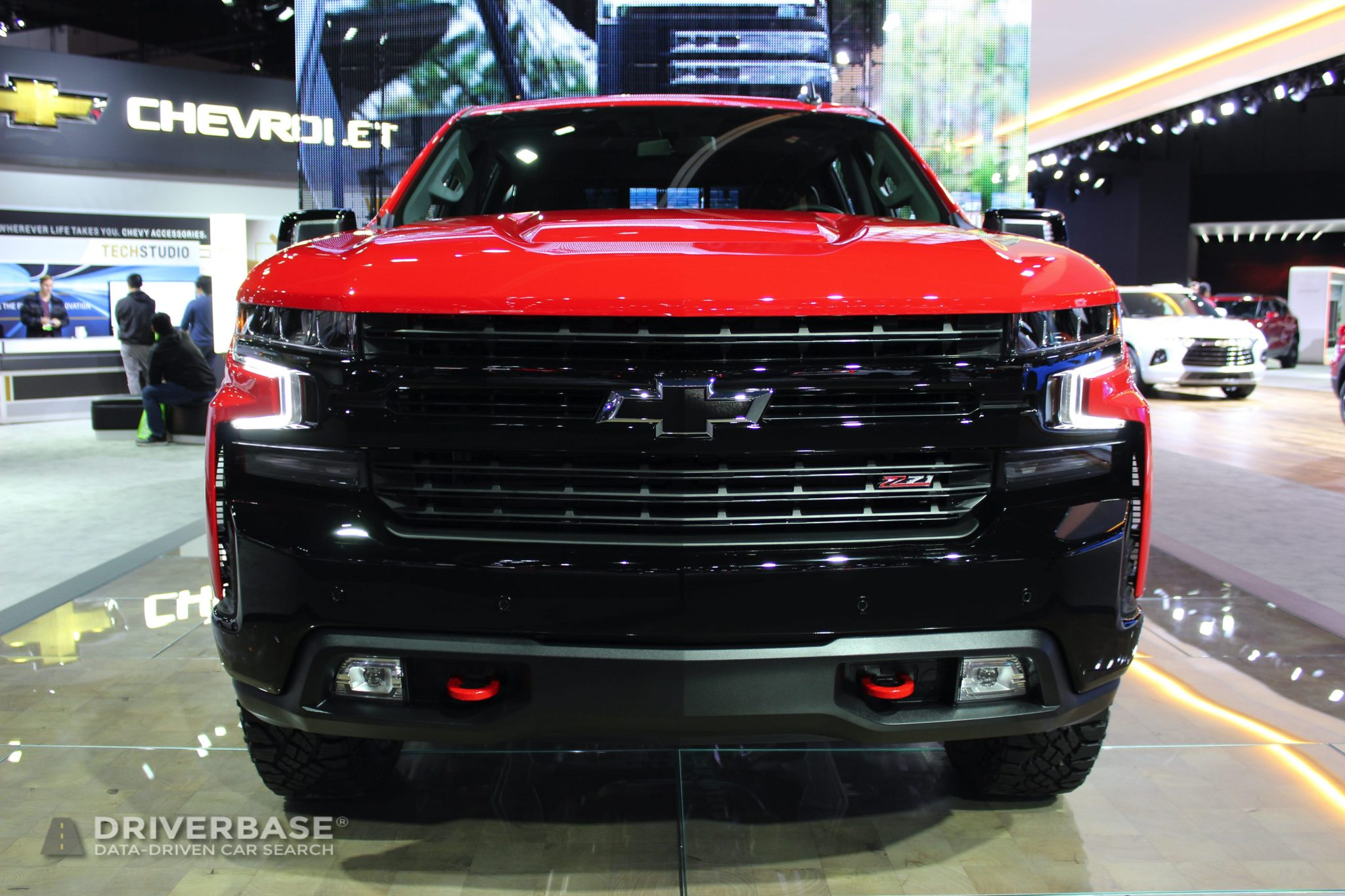 2020 Chevrolet Silverado LT Trail Boss at the 2019 Los Angeles Auto Show