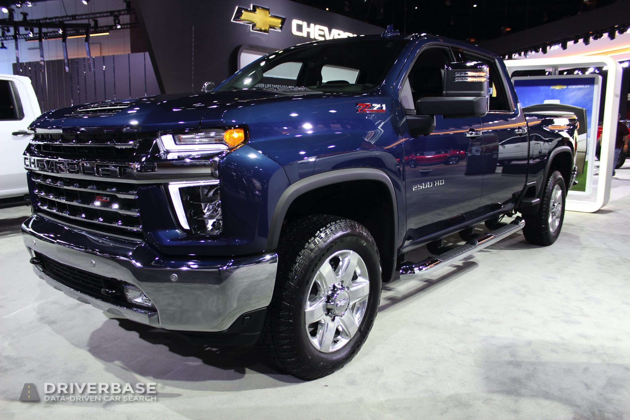 2020 Chevrolet Silverado LTZ at the 2019 Los Angeles Auto Show