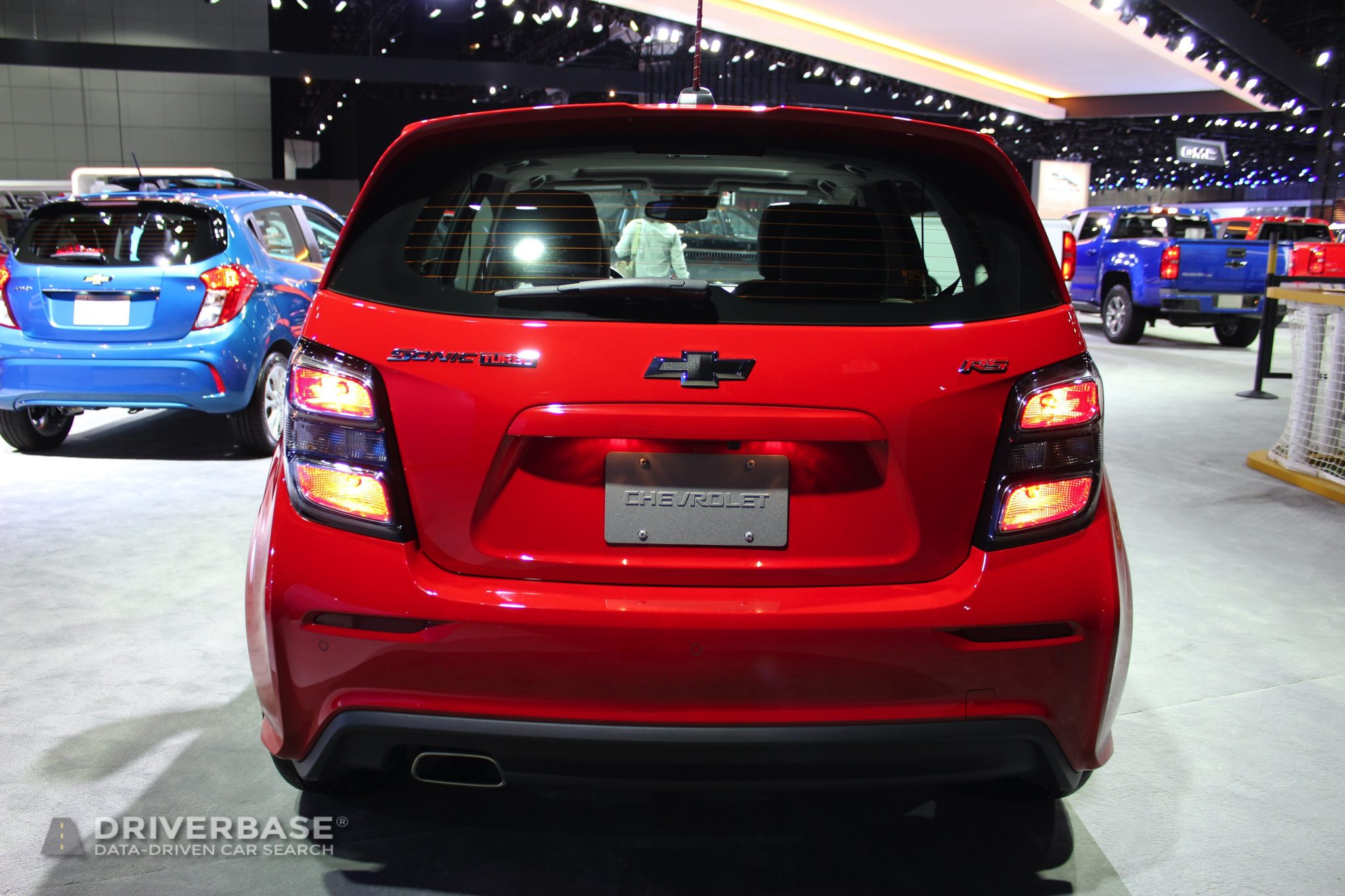 2020 Chevrolet Sonic RS at the 2019 Los Angeles Auto Show