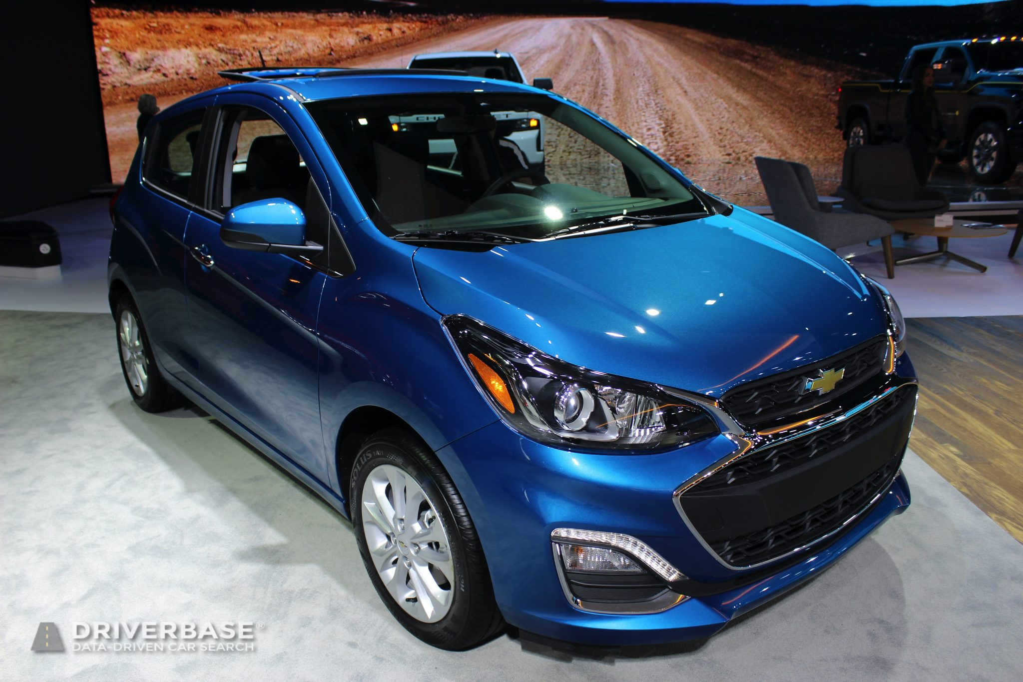 2020 Chevrolet Spark LT at the 2019 Los Angeles Auto Show