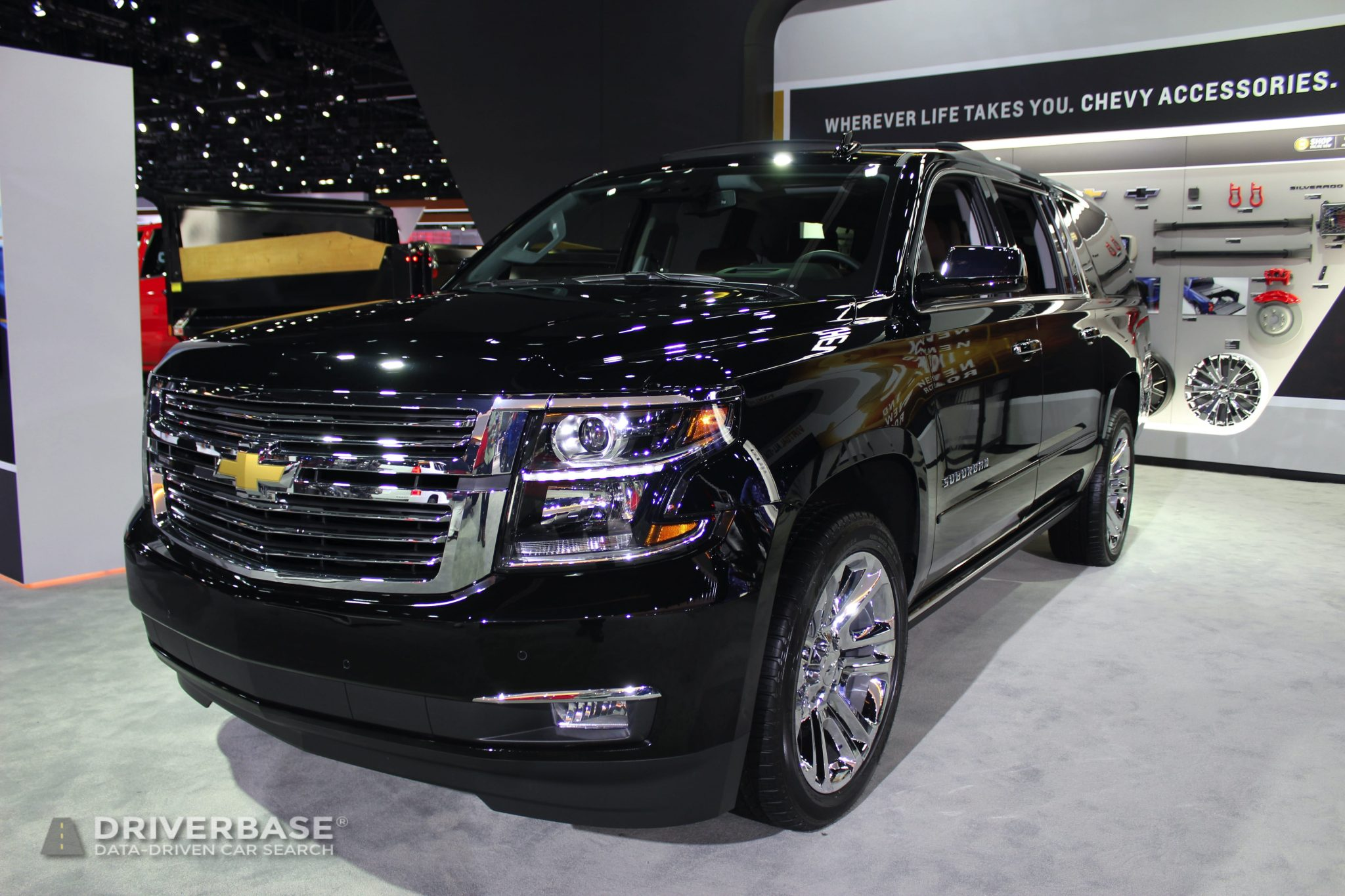 2020 Chevrolet Suburban Premier at the 2019 Los Angeles Auto Show