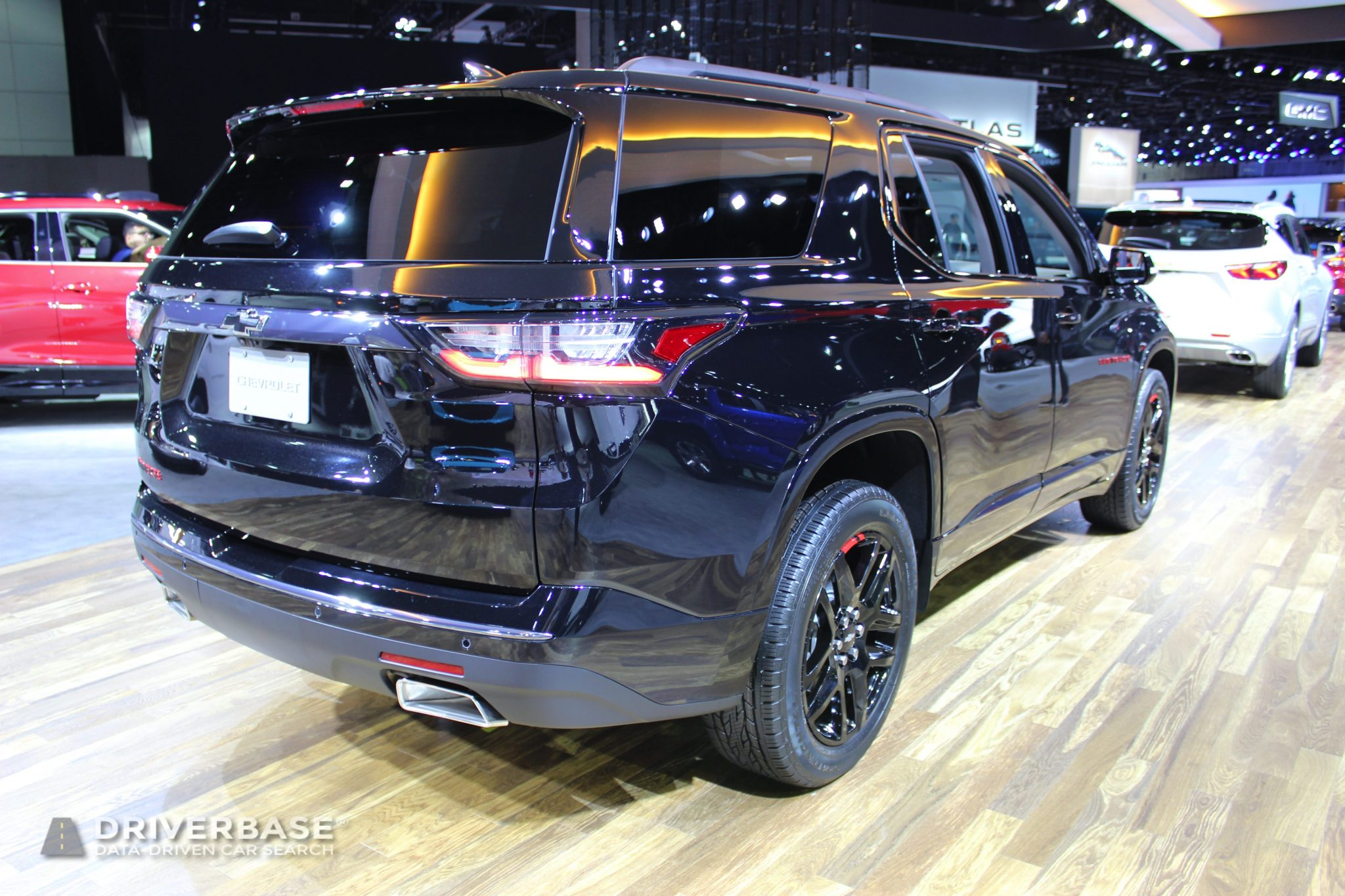 2020 Chevrolet Traverse at the 2019 Los Angeles Auto Show