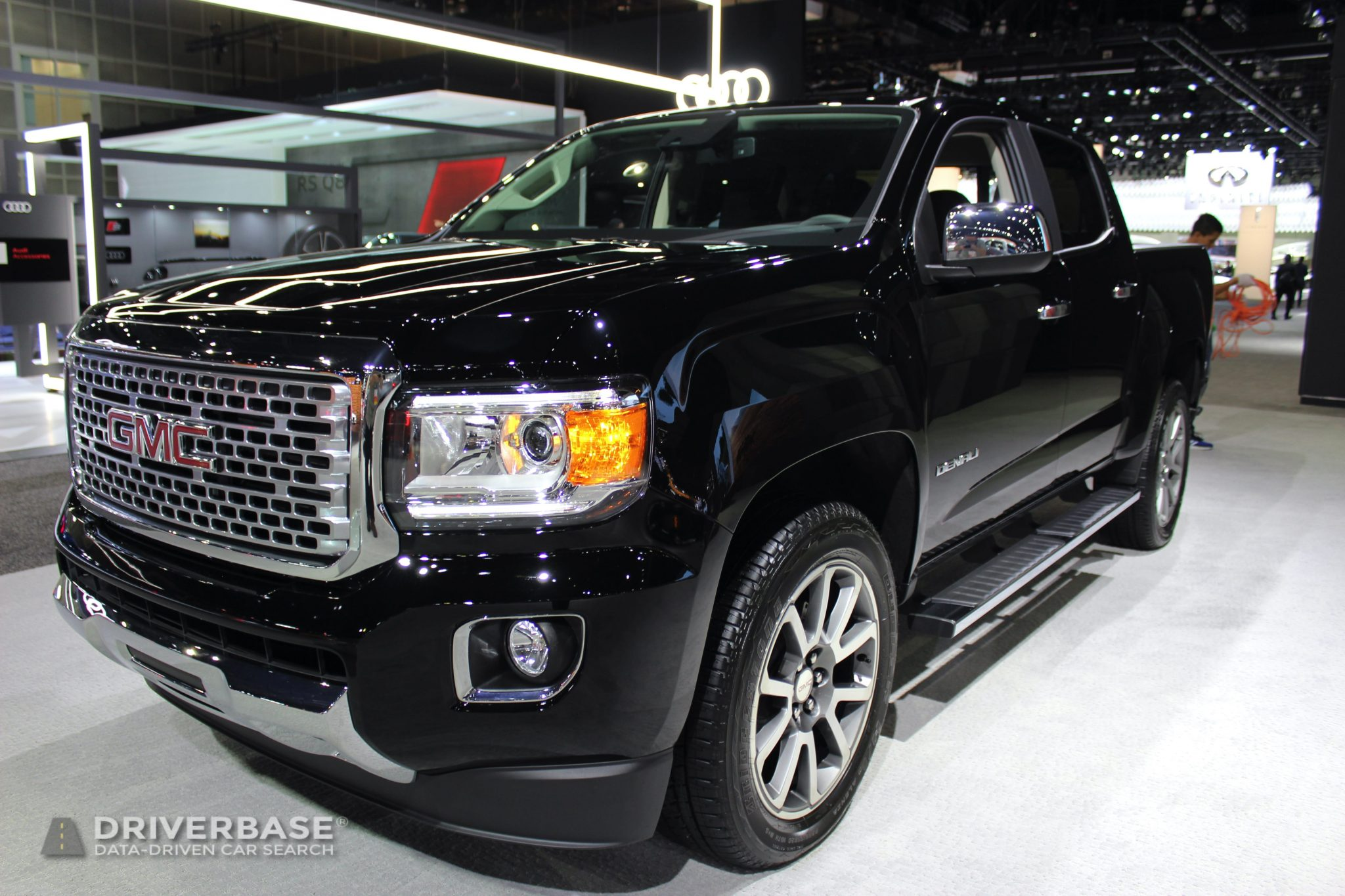 2020 GMC Canyon Denali at the 2019 Los Angeles Auto Show
