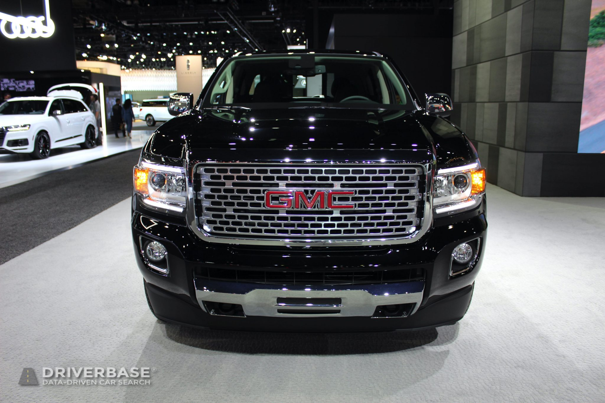2020 GMC Canyon Denali at the 2019 Los Angeles Auto Show ...