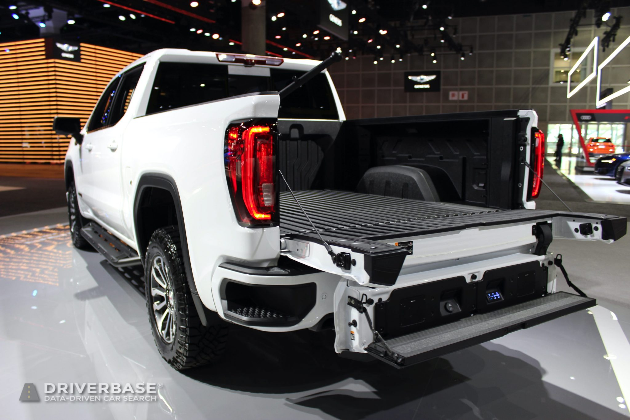 2020 GMC Sierra 2500 HD AT4 at the 2019 Los Angeles Auto Show
