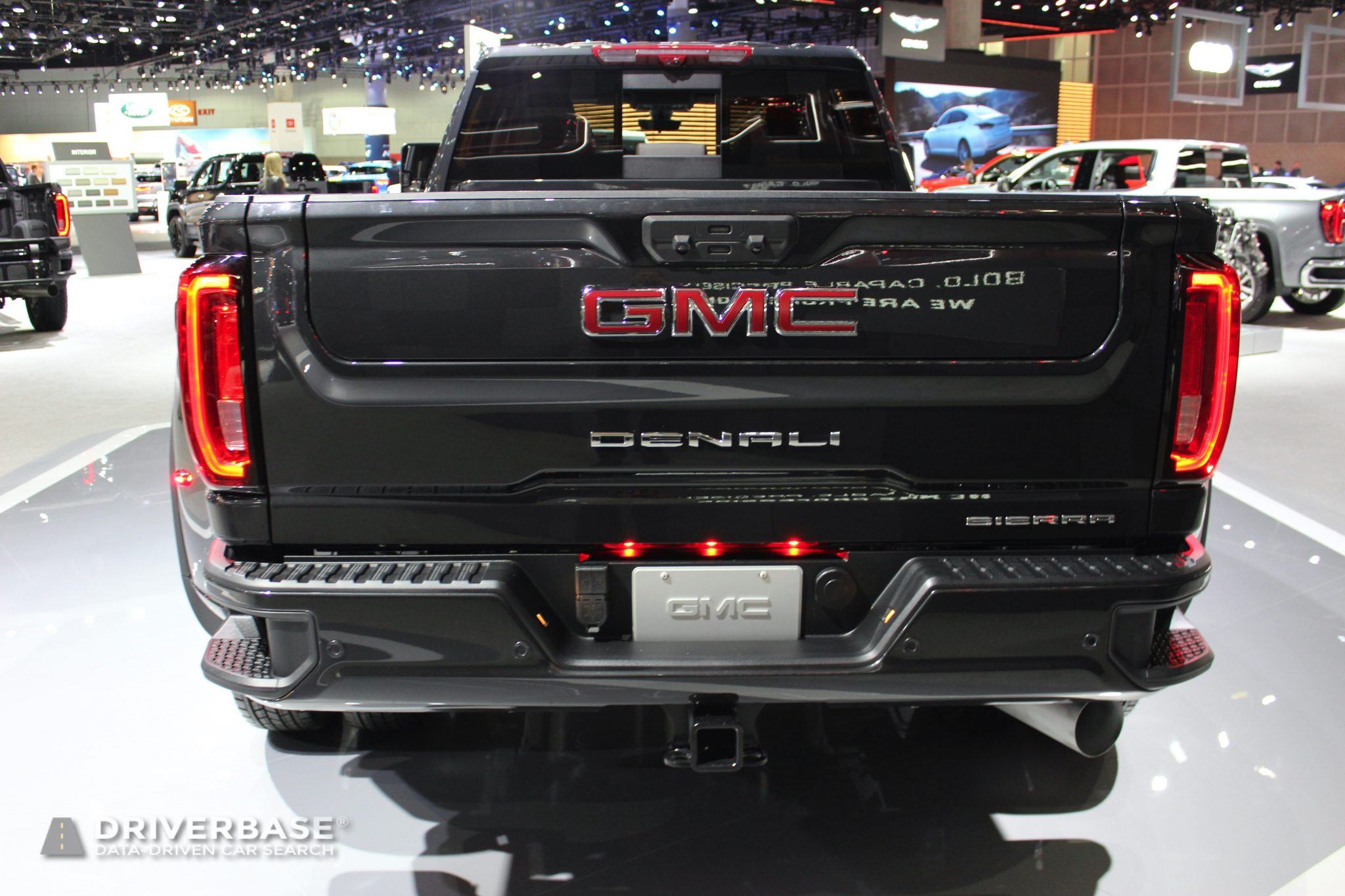 2020 GMC Sierra 3500 HD Dually Denali at the 2019 Los Angeles Auto Show