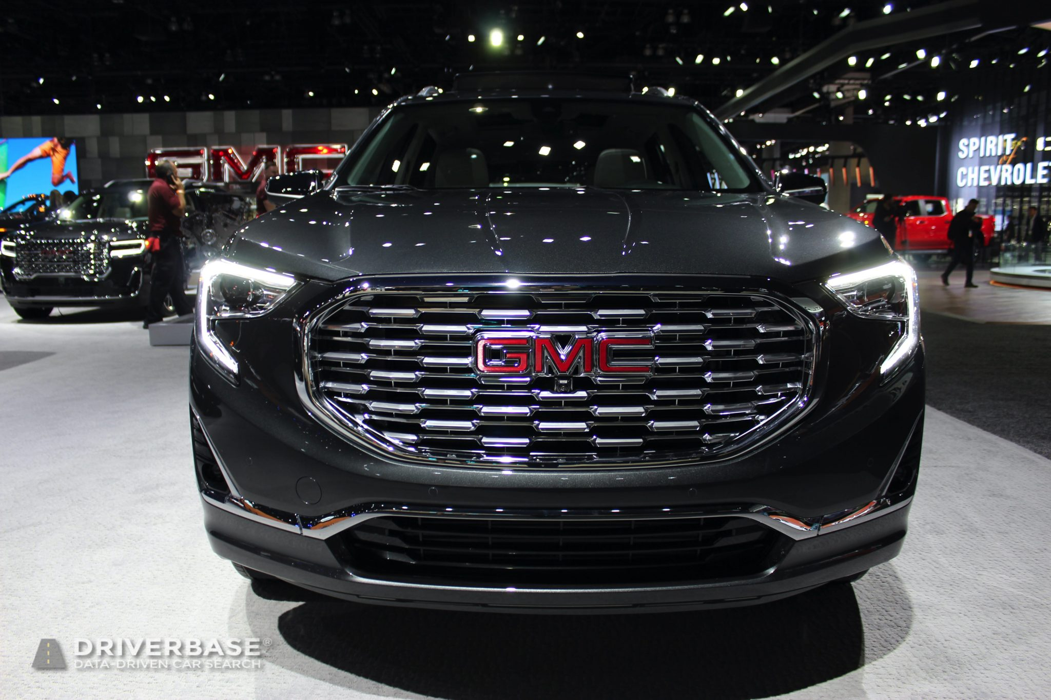 2020 GMC Terrain at the 2019 Los Angeles Auto Show