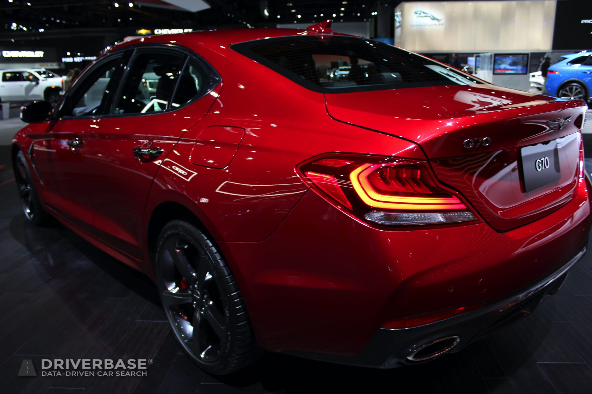 2020 Genesis G70 at the 2019 Los Angeles Auto Show