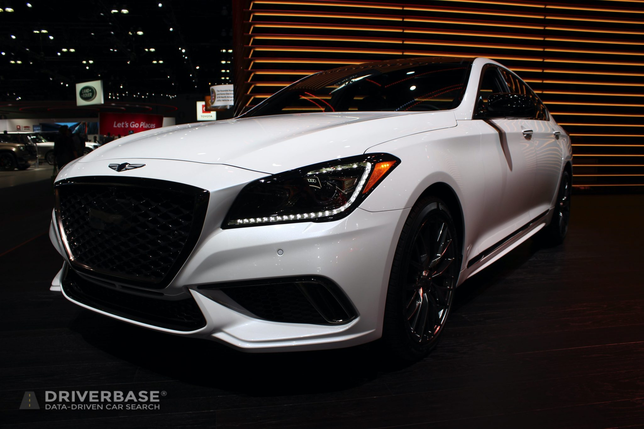 2020 Genesis G80 at the 2019 Los Angeles Auto Show