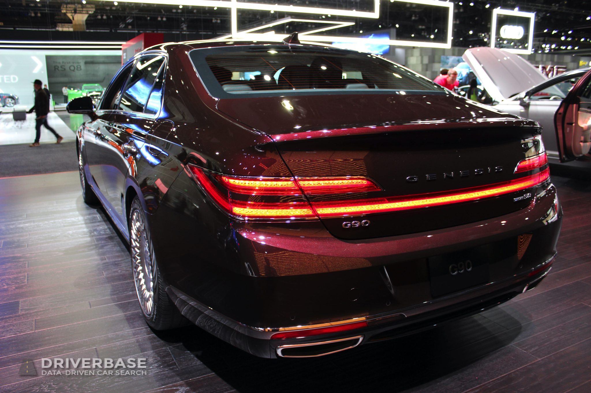 2020 Genesis G90 at the 2019 Los Angeles Auto Show
