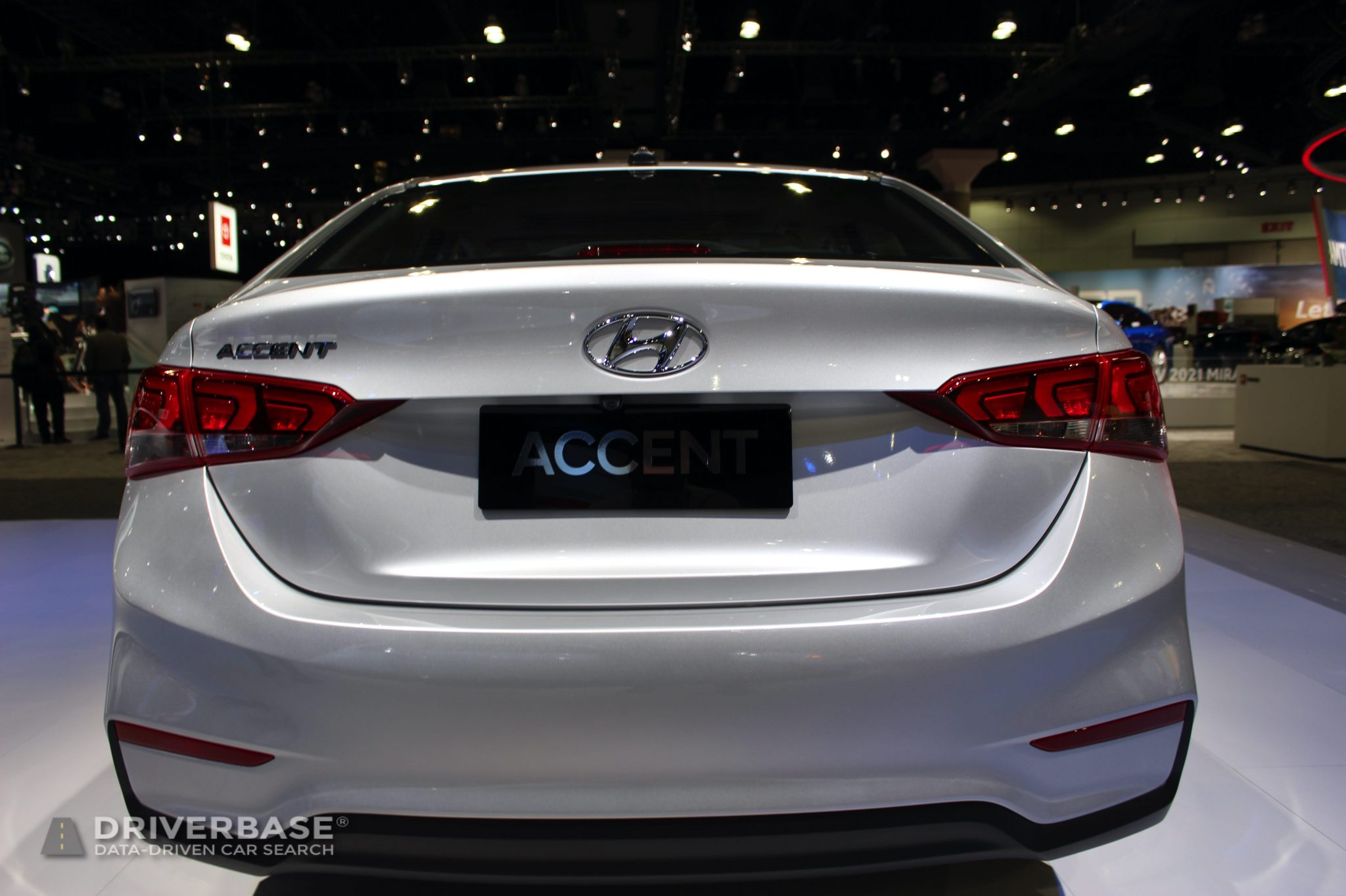 2020 Hyundai Accent at the 2019 Los Angeles Auto Show